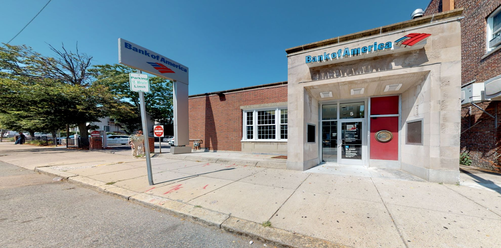 Bank of America financial center with drive-thru ATM | 5 Chestnut Hill Ave, Brighton, MA 02135