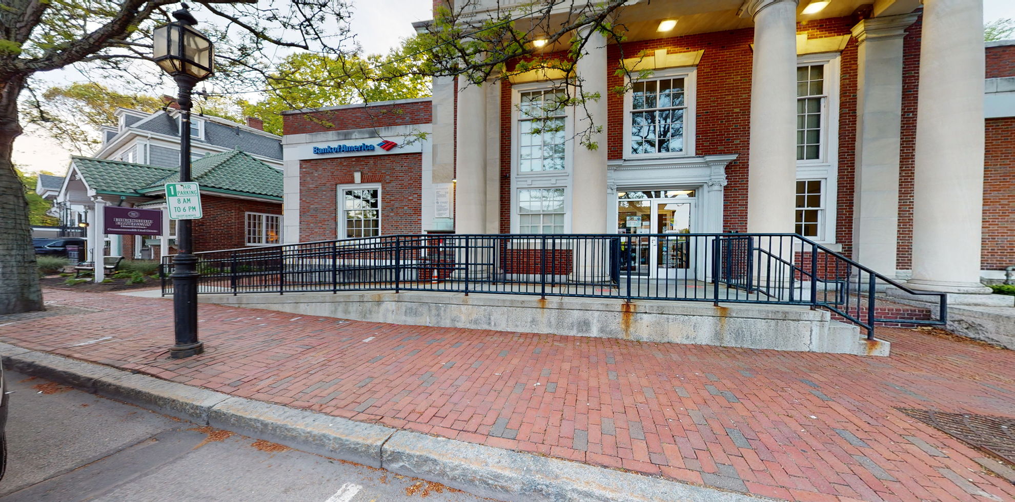 Bank of America financial center with walk-up ATM | 35 Church St, Winchester, MA 01890