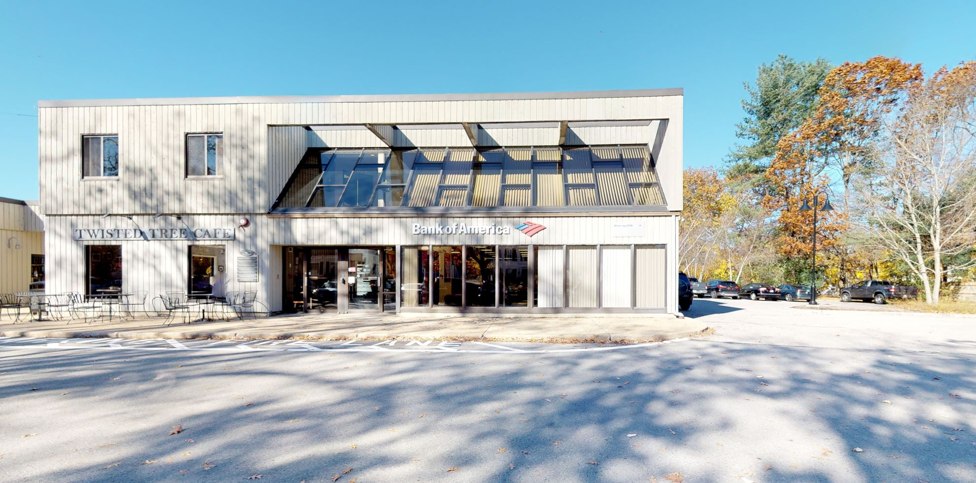 Bank of America financial center with drive-thru ATM   145 Lincoln Rd, Lincoln, MA 01773