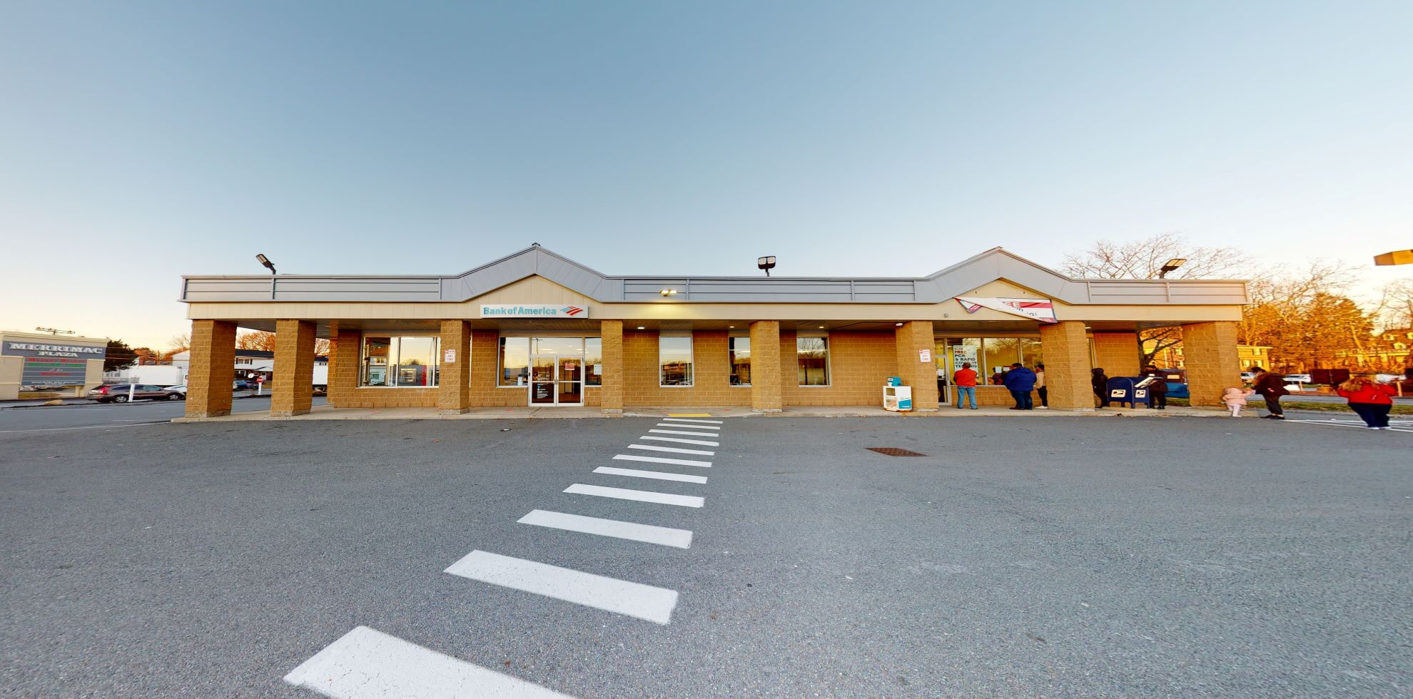 Bank of America financial center with walk-up ATM | 190 Haverhill St, Methuen, MA 01844