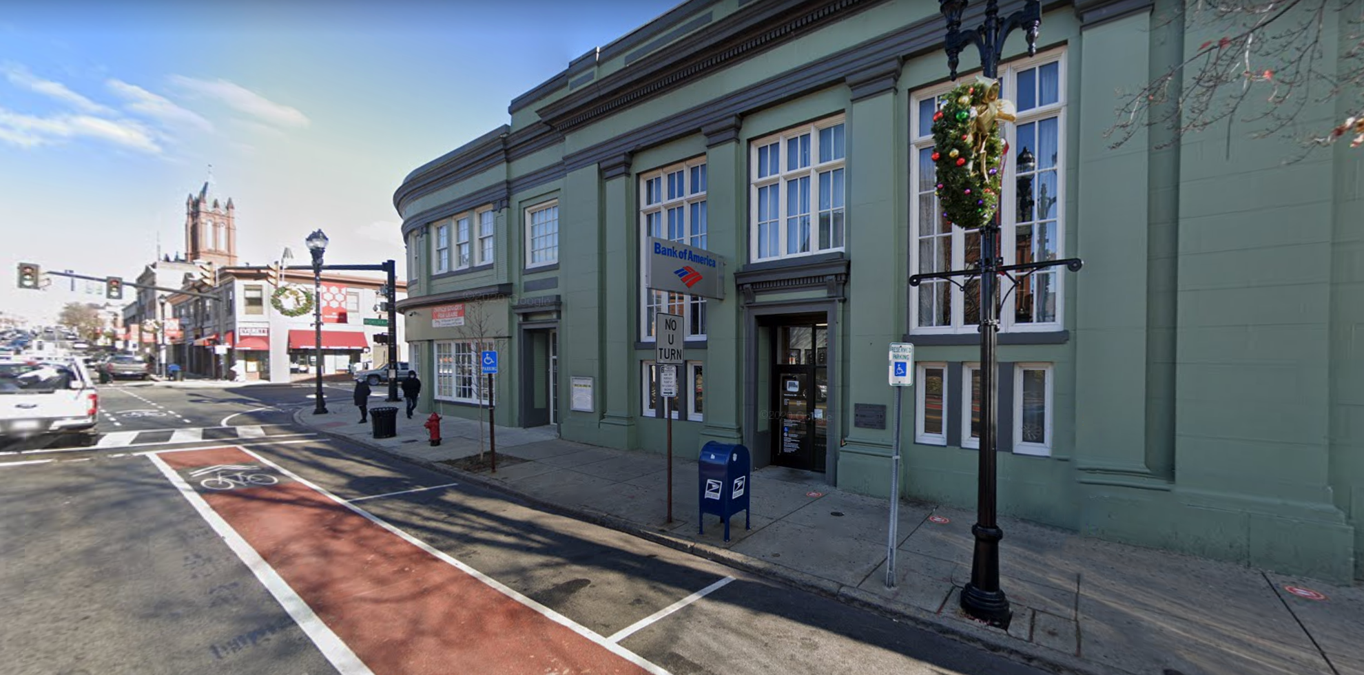 Bank of America financial center with walk-up ATM   431 Broadway, Everett, MA 02149