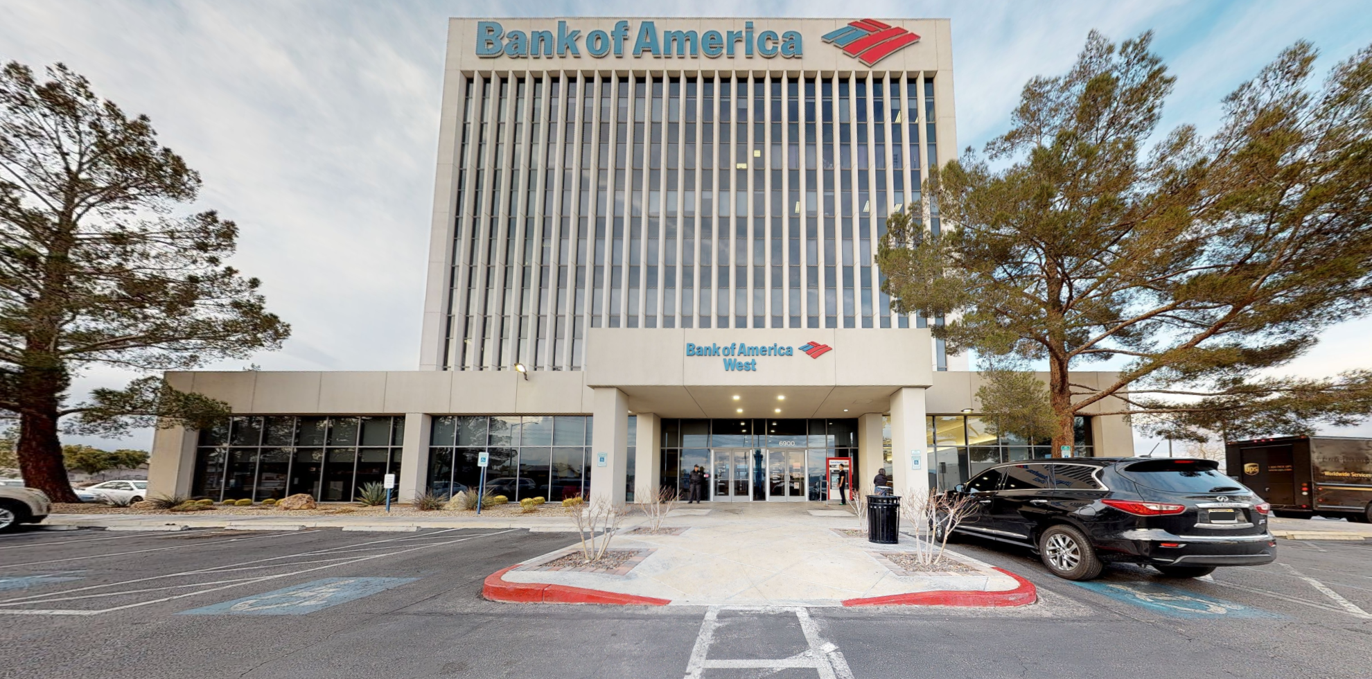 Bank of America financial center with drive-thru ATM | 6900 Westcliff Dr, Las Vegas, NV 89145