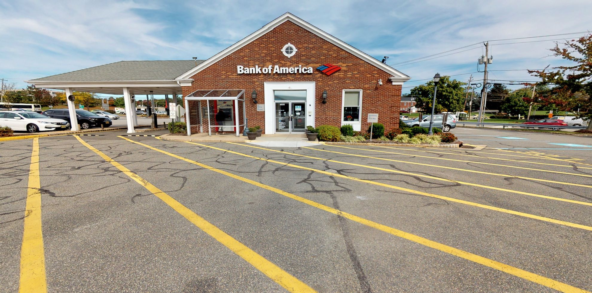 Bank of America financial center with drive-thru ATM | 3035 Route 46, Parsippany, NJ 07054