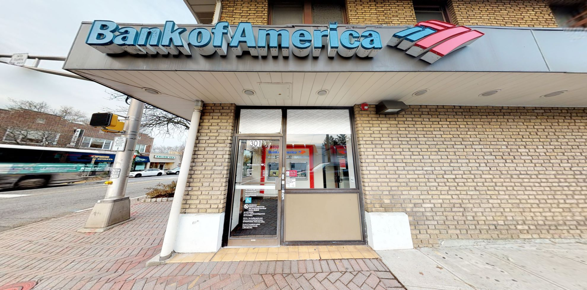 Bank of America financial center with walk-up ATM   301 Fort Lee Rd, Leonia, NJ 07605