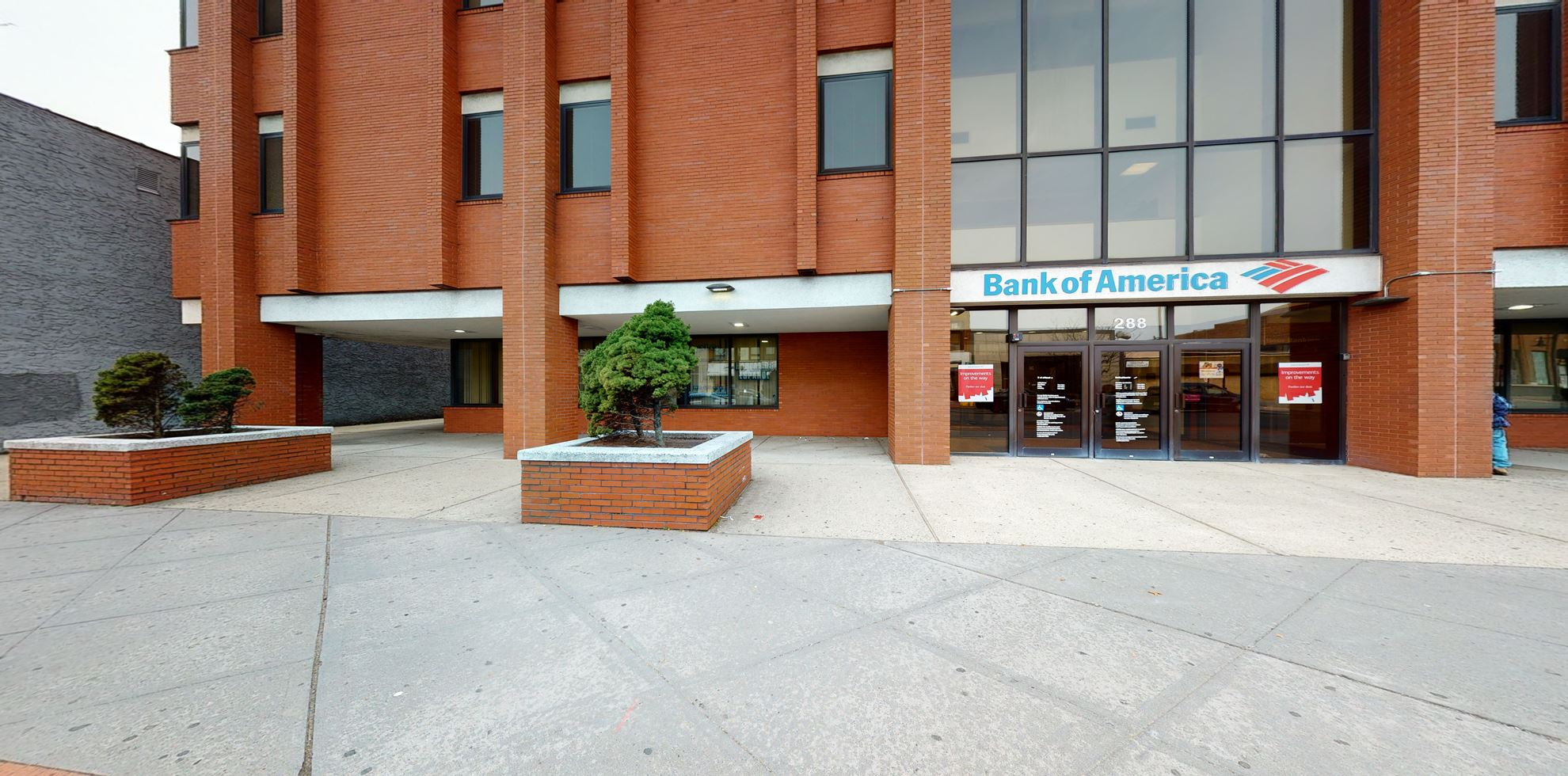 Bank of America financial center with drive-thru ATM   288 N Broad St, Elizabeth, NJ 07208