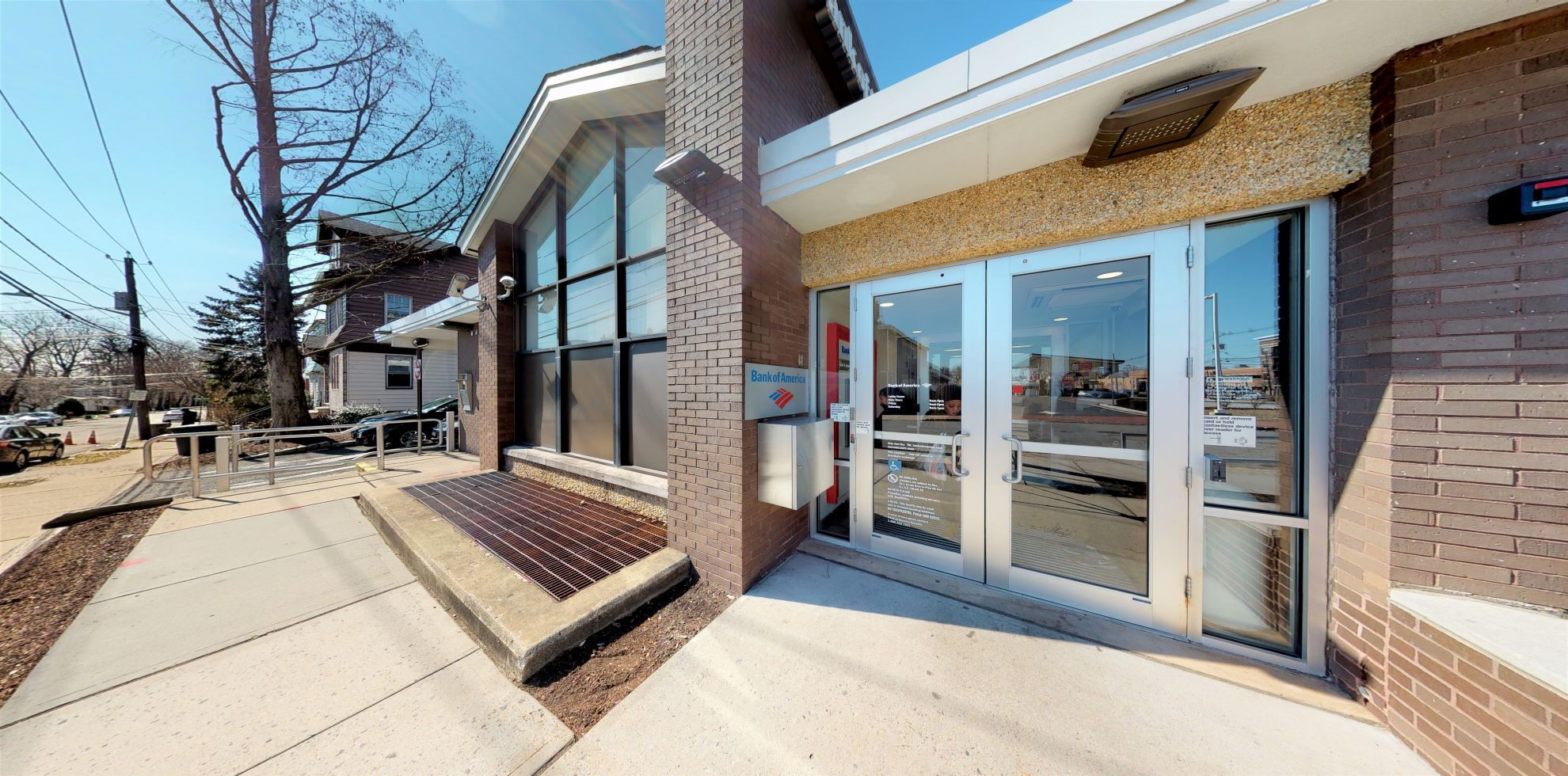Bank of America financial center with walk-up ATM | 1521 Springfield Ave, Maplewood, NJ 07040