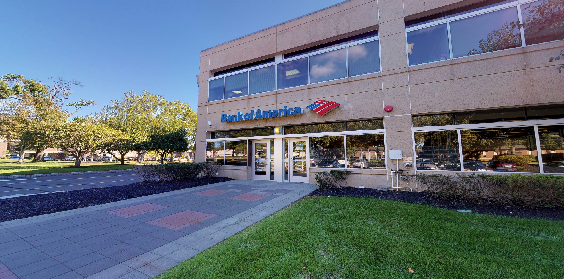 Bank of America financial center with drive-thru ATM | 3140 Princeton Pike, Lawrence Township, NJ 08648