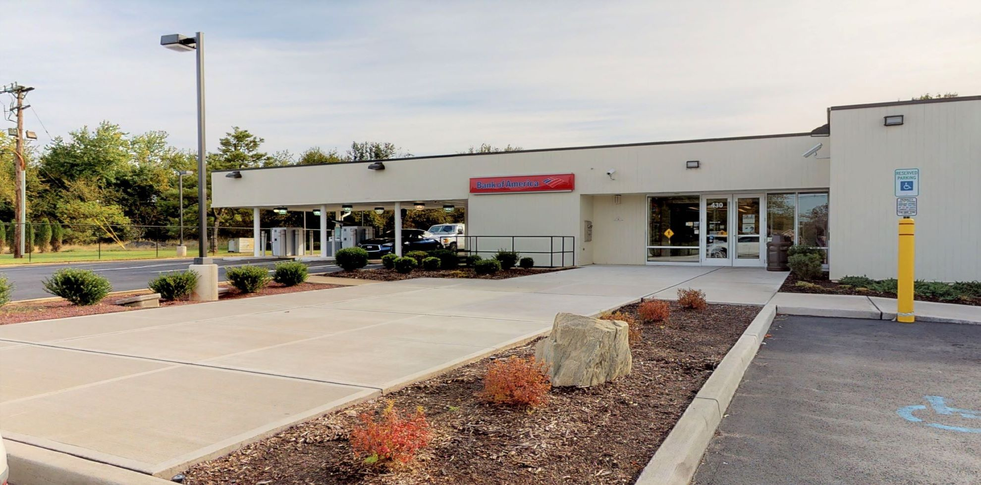 Bank of America financial center with drive-thru ATM | 430 Amwell Rd, Hillsborough, NJ 08844