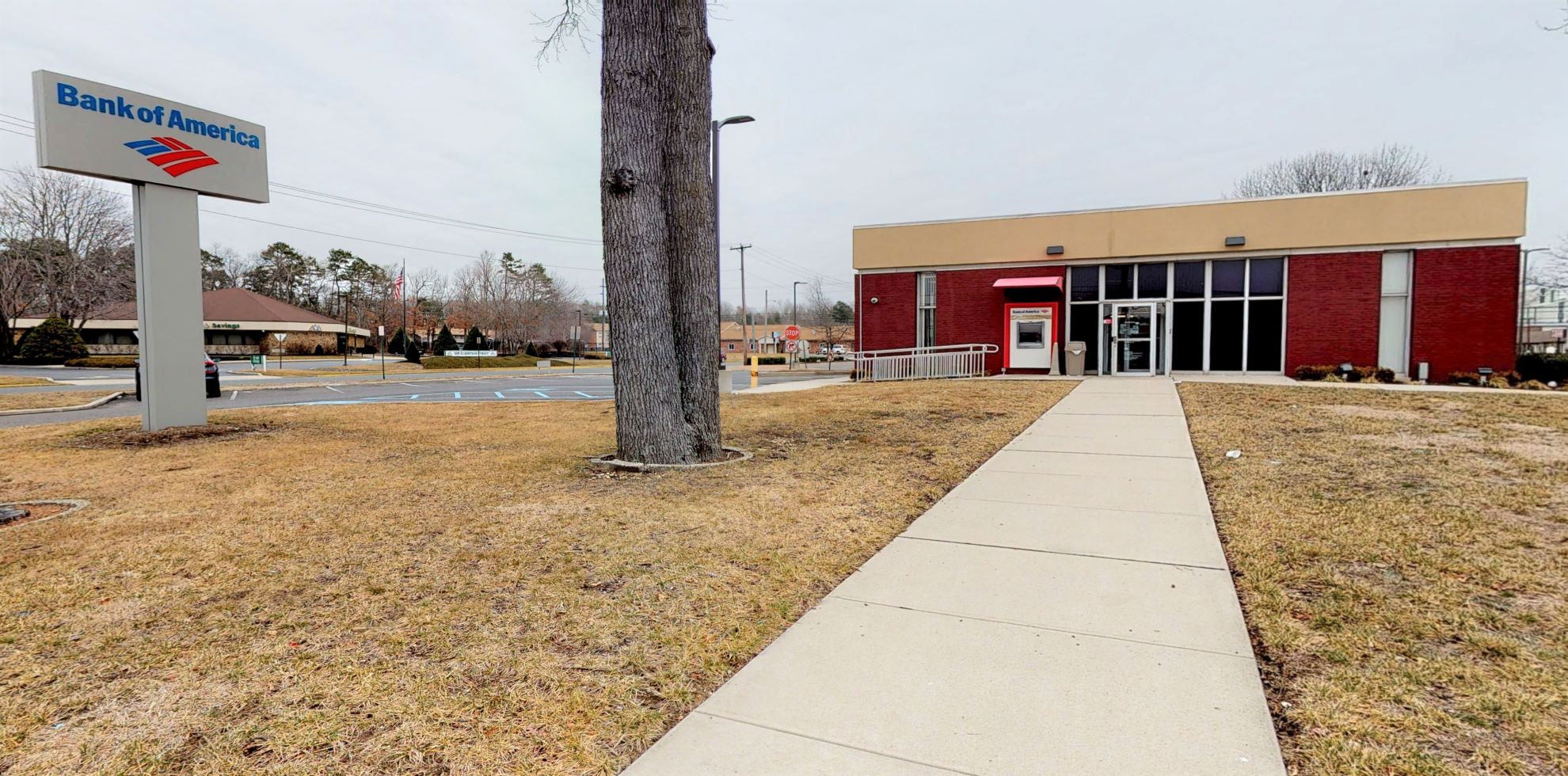Bank of America financial center with drive-thru ATM   1709 N High St, Millville, NJ 08332