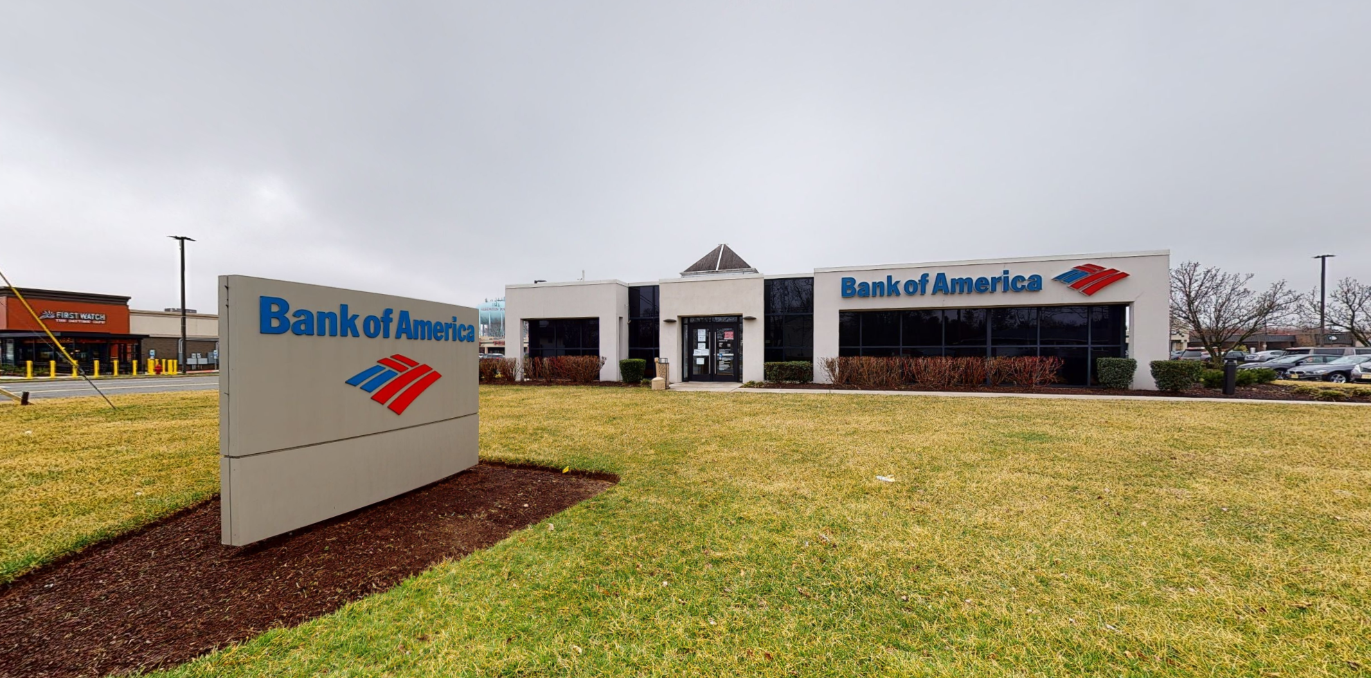 Bank of America financial center with drive-thru ATM | 407 Egg Harbor Rd, Sewell, NJ 08080