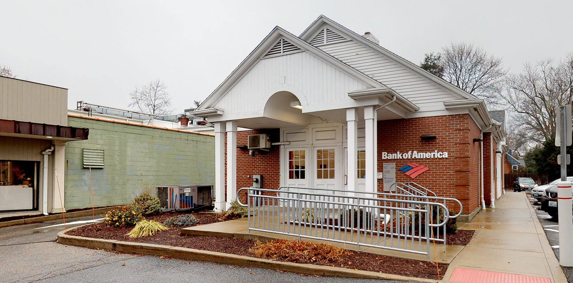 Bank of America financial center with drive-thru ATM | 1815 Post Rd E, Westport, CT 06880