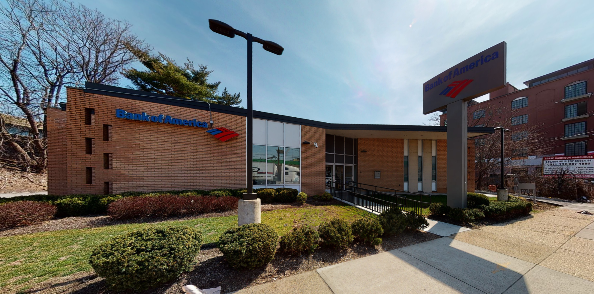 Bank of America financial center with drive-thru ATM | 500 Frank E Rodgers Blvd S, Harrison, NJ 07029