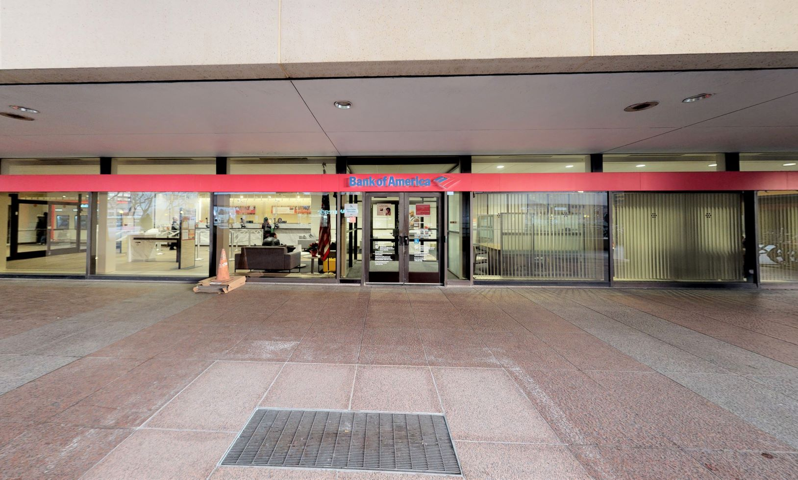 Bank of America financial center with walk-up ATM | 12 Path Plz, Jersey City, NJ 07306