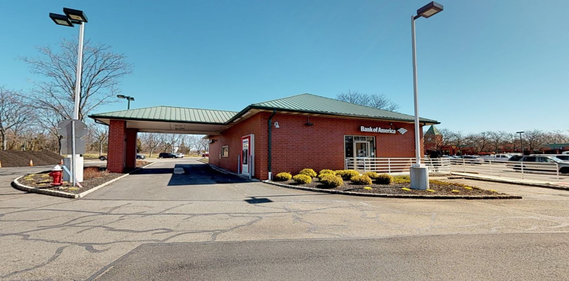 Bank of America financial center with drive-thru ATM | 1280 Centennial Ave, Piscataway, NJ 08854