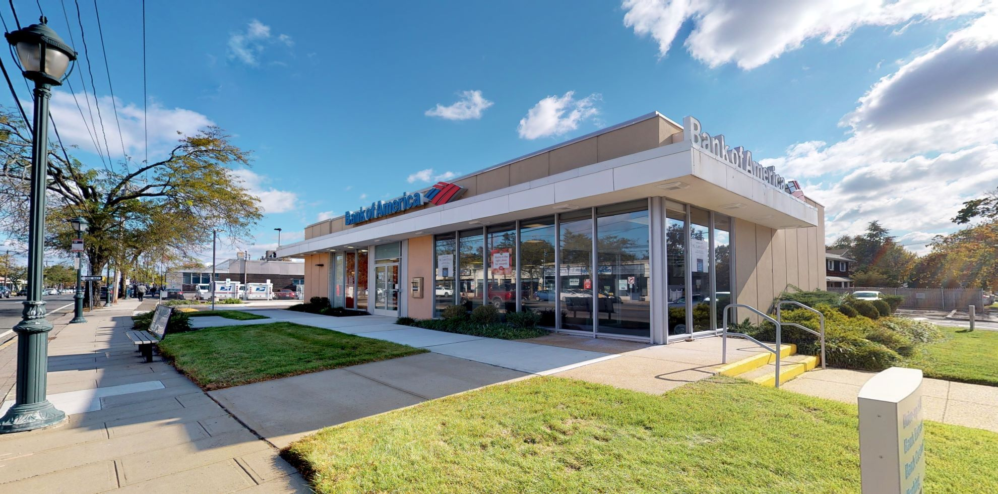 Bank of America financial center with drive-thru ATM   2020 Merrick Rd, Merrick, NY 11566