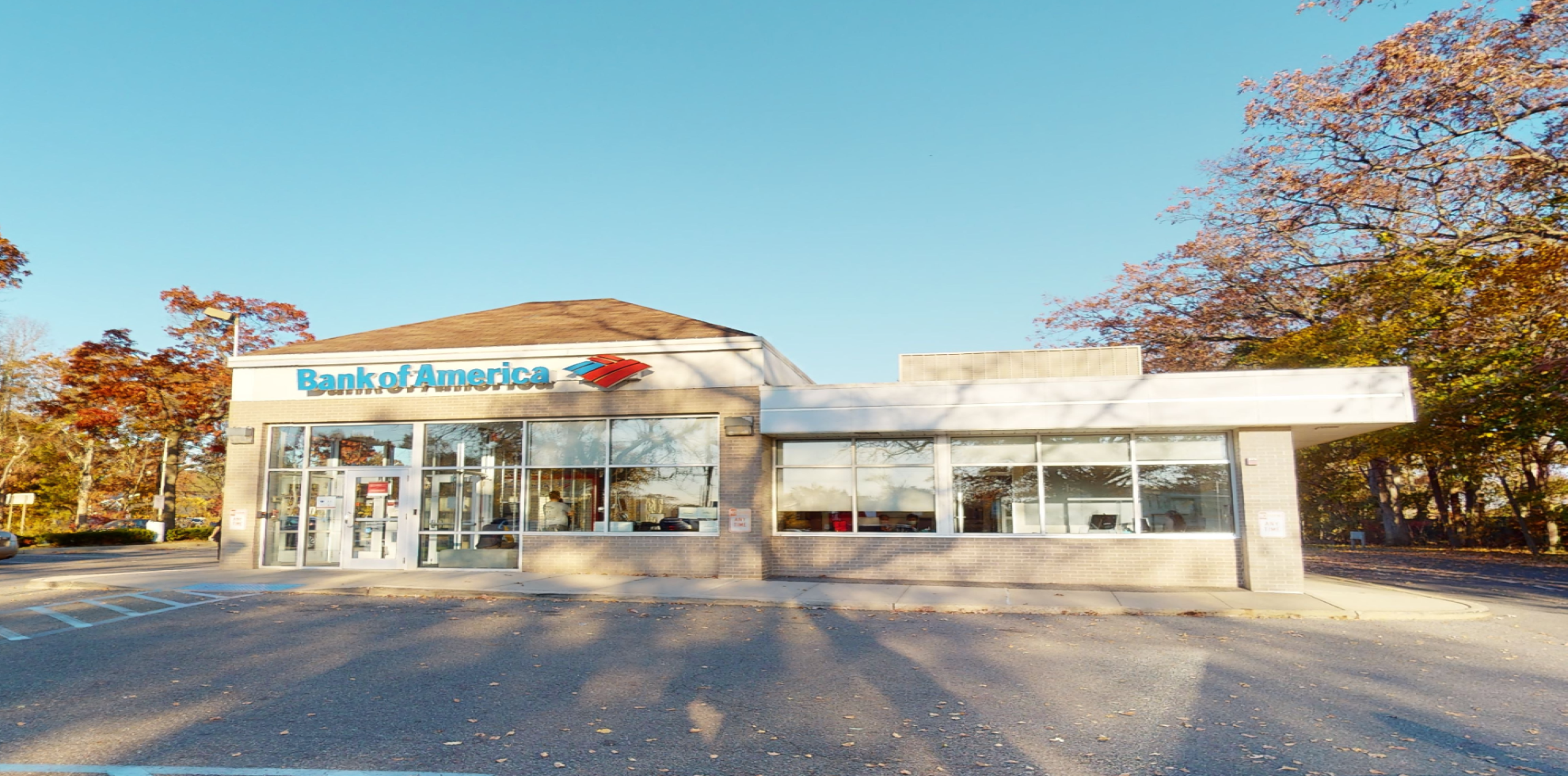 Bank of America financial center with drive-thru ATM | 185 Wheeler Rd, Central Islip, NY 11722