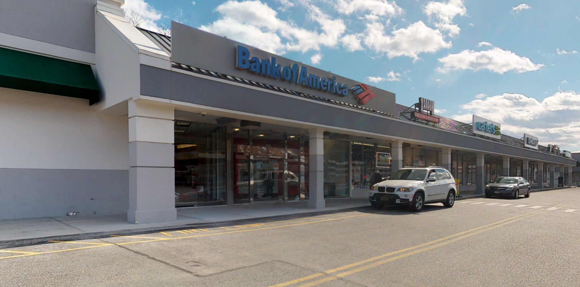 Bank of America financial center with drive-thru ATM   2604 Central Park Ave, Yonkers, NY 10710