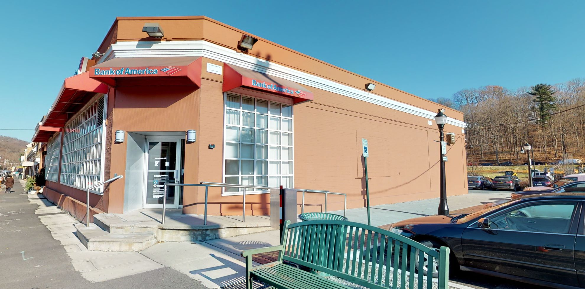 Bank of America financial center with walk-up ATM | 91 S Greeley Ave, Chappaqua, NY 10514