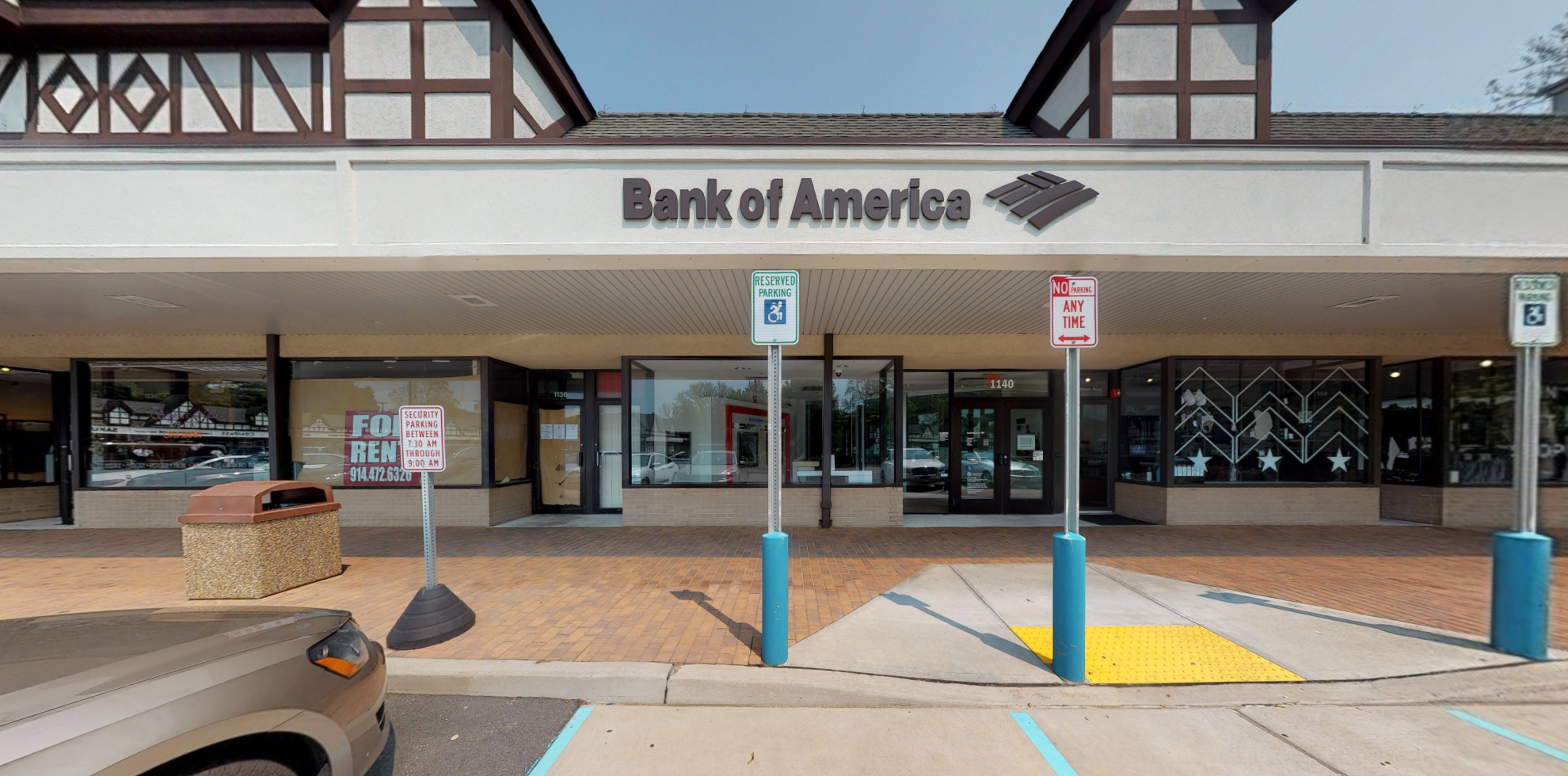 Bank of America financial center with drive-thru ATM | 1140 Wilmot Rd, Scarsdale, NY 10583