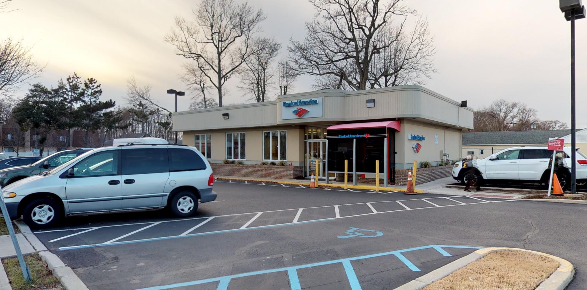 Bank of America financial center with drive-thru ATM   1515 Wildwood Blvd, Rio Grande, NJ 08242