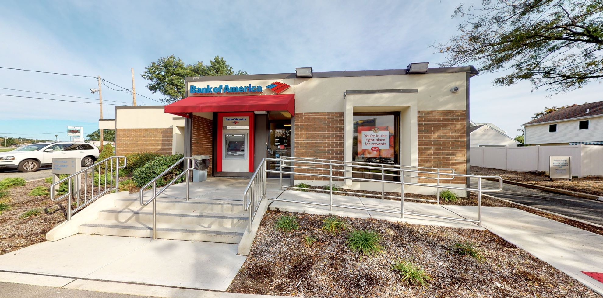Bank of America financial center with walk-up ATM   1400 Route 23, Butler, NJ 07405