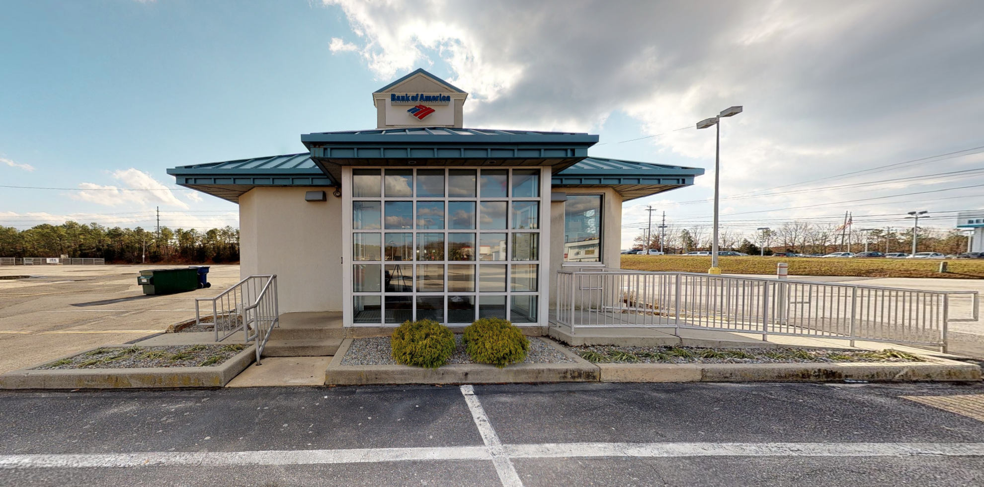 Bank of America financial center with drive-thru ATM | 6718 Black Horse Pike, Egg Harbor Township, NJ 08234