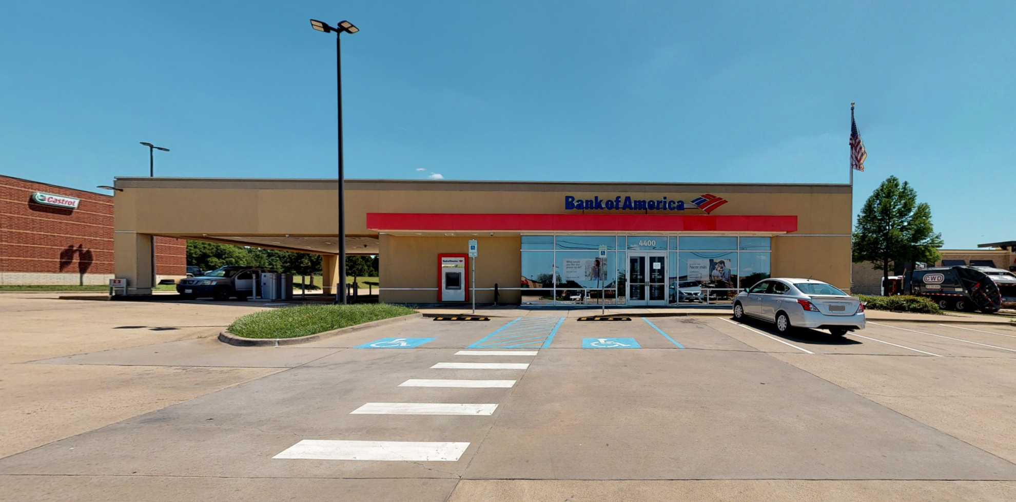 Bank of America financial center with drive-thru ATM   4400 FM 2181, Hickory Creek, TX 75065