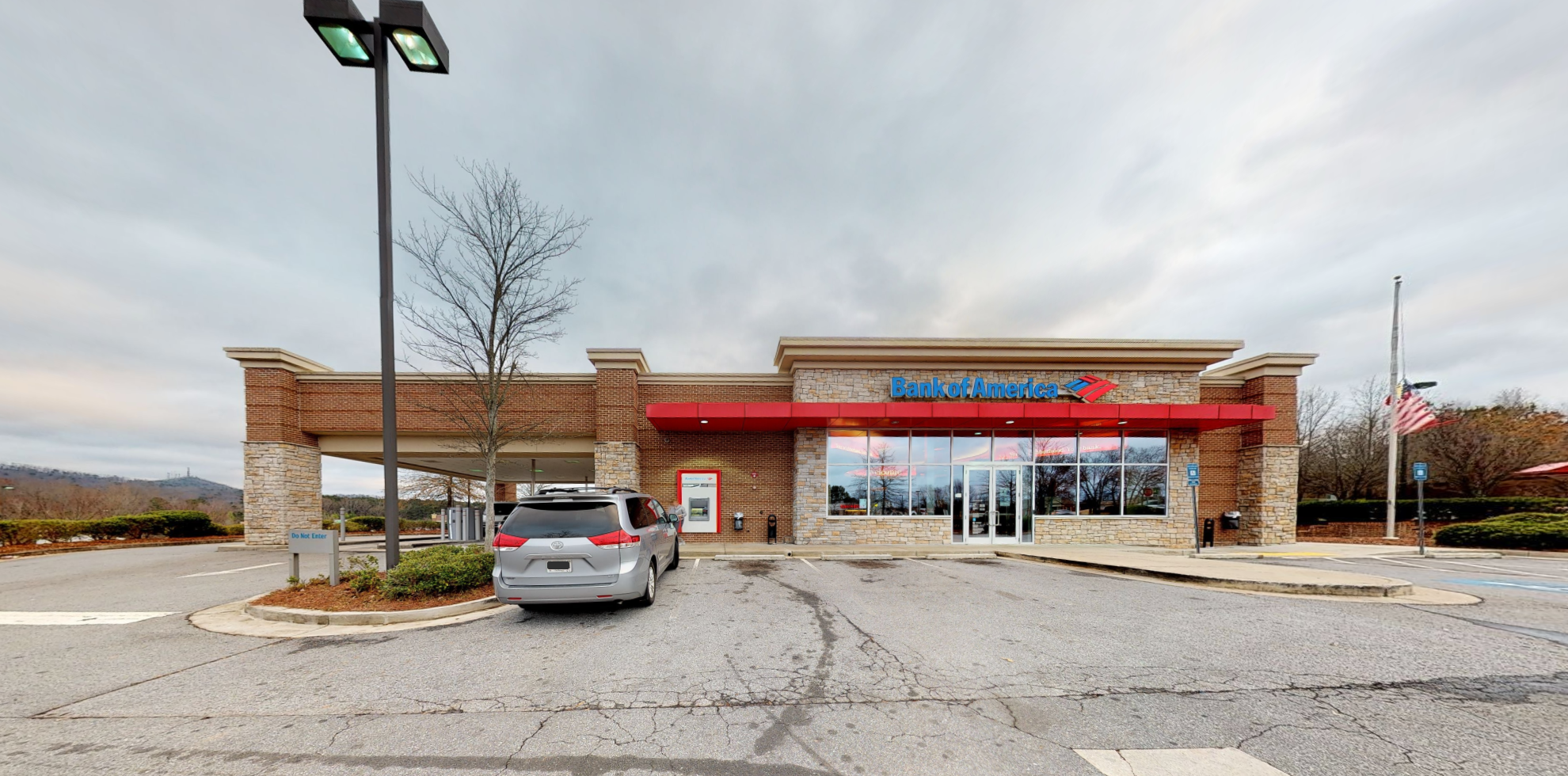 Bank of America financial center with drive-thru ATM   12170 Highway 92, Woodstock, GA 30188