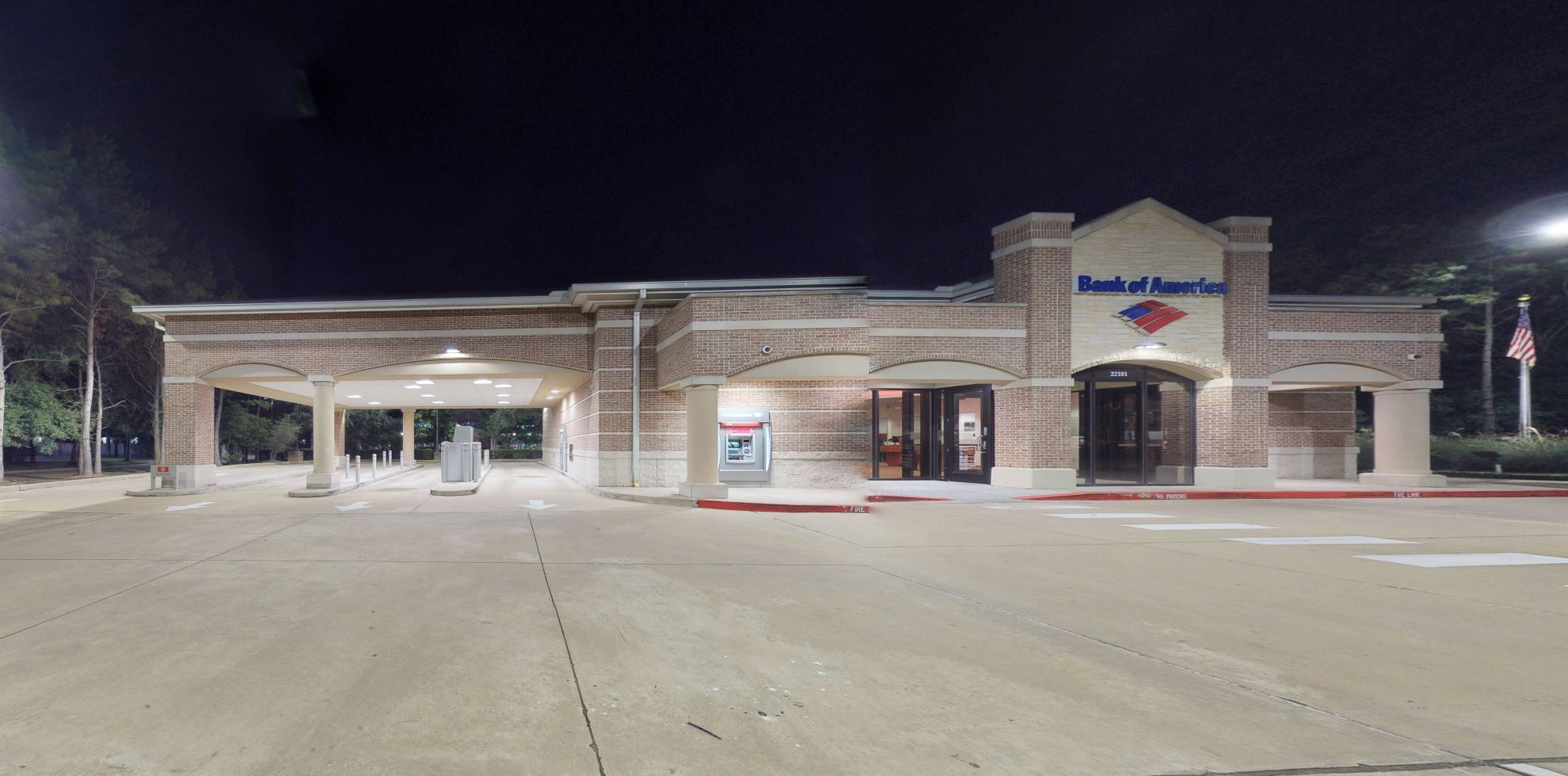 Bank of America financial center with drive-thru ATM | 22101 Westheimer Pkwy, Katy, TX 77450
