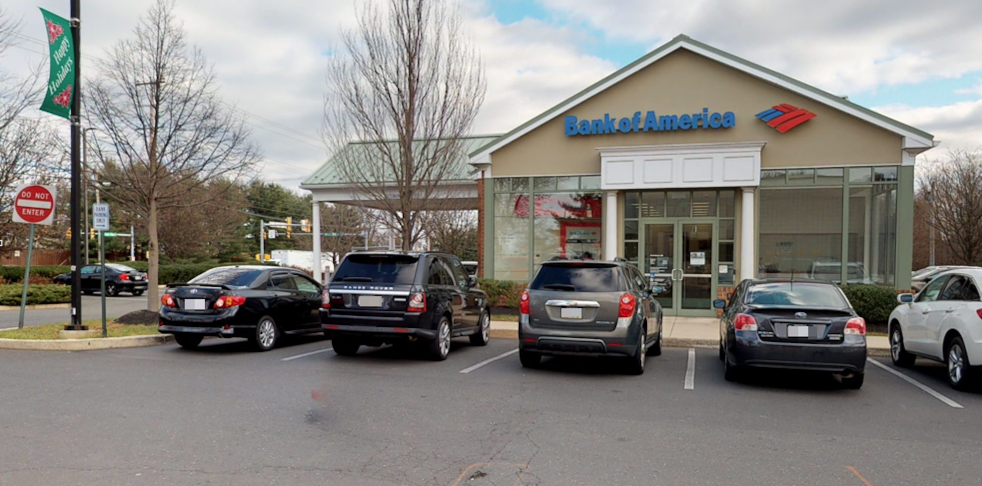 Bank of America financial center with drive-thru ATM   983 N Wales Rd, North Wales, PA 19454