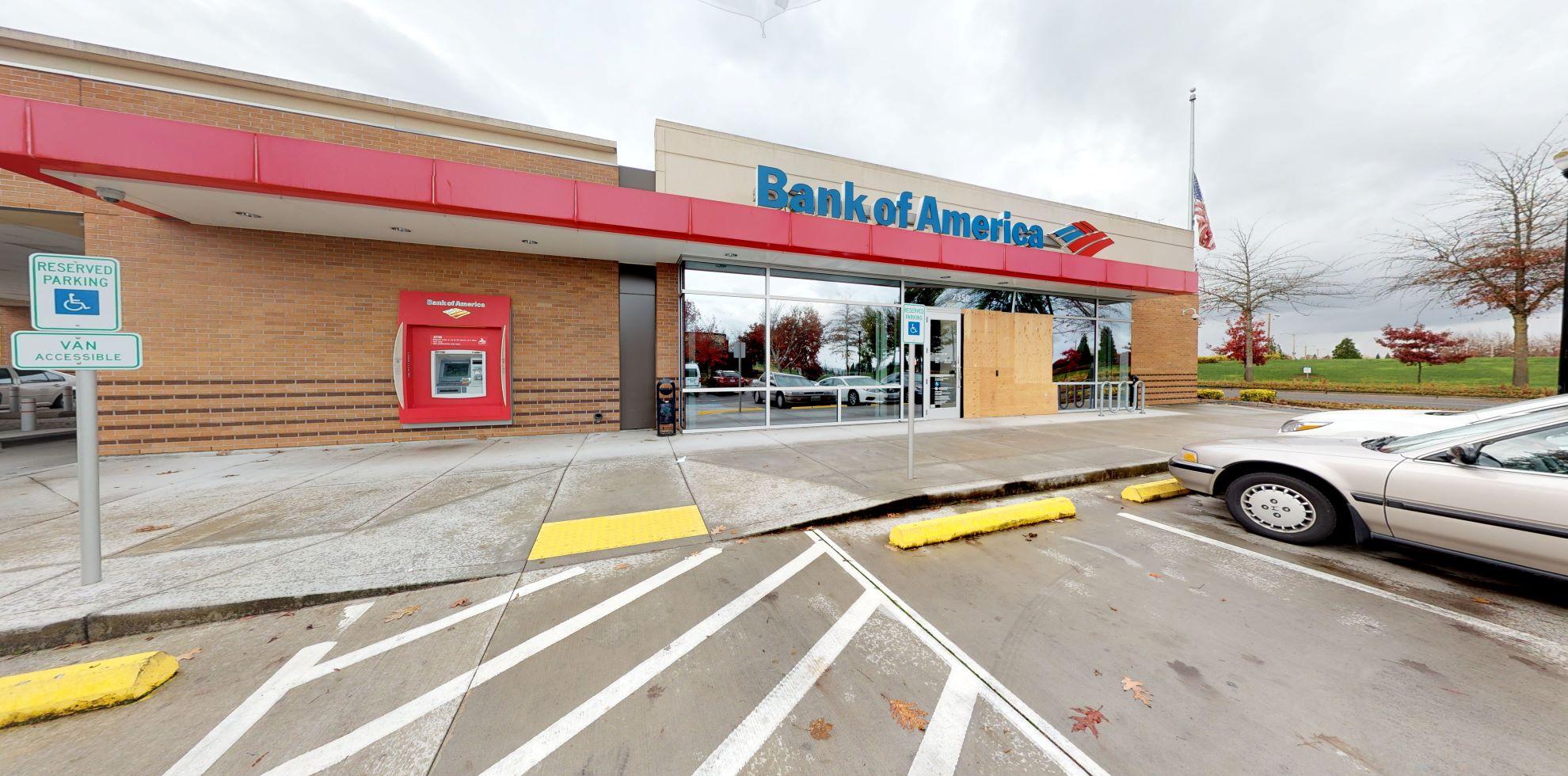 Bank of America financial center with drive-thru ATM | 7350 NE Cornell Rd, Hillsboro, OR 97124