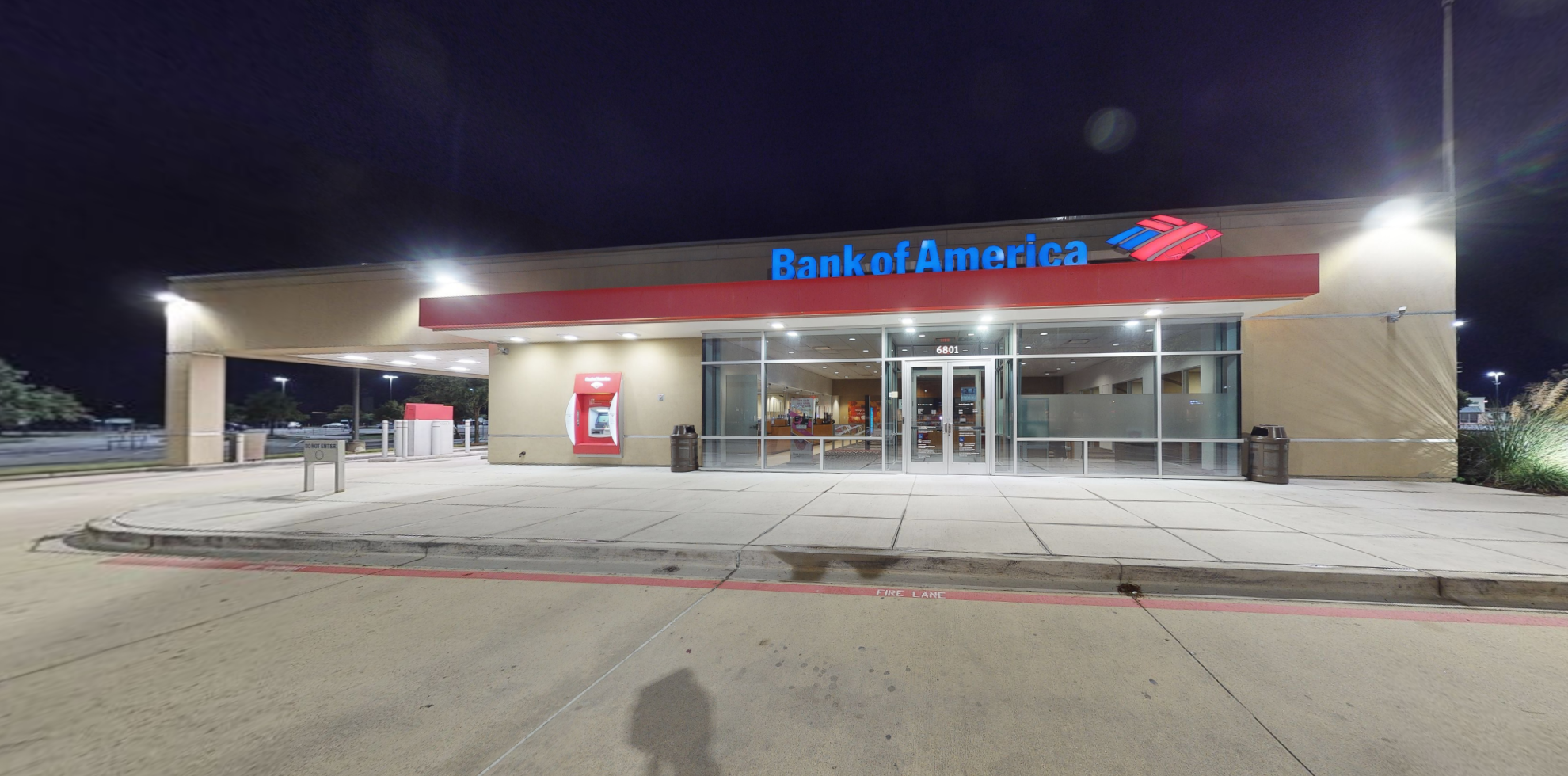 Bank of America financial center with drive-thru ATM   6801 S Fry Rd, Katy, TX 77494