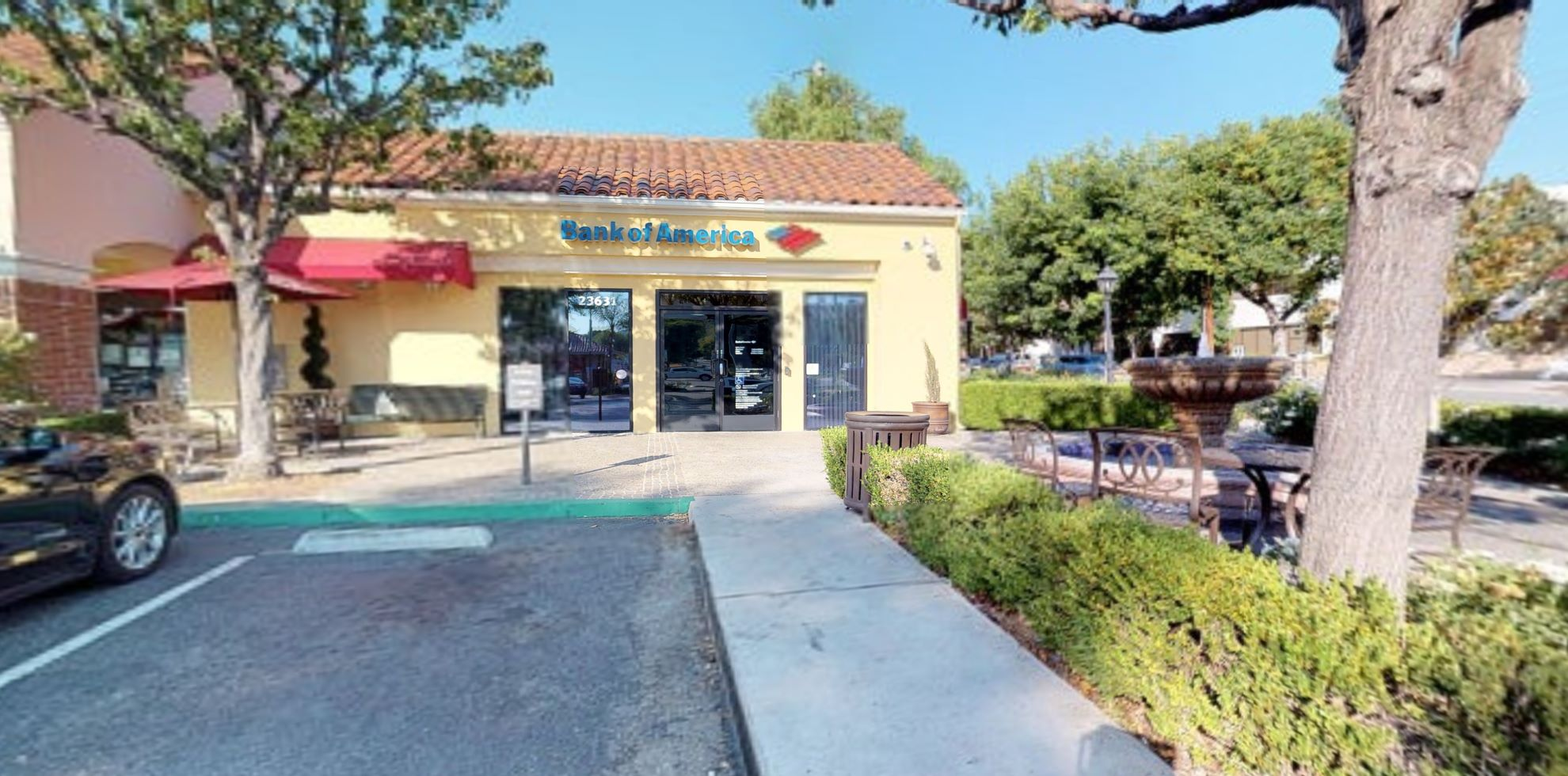 Bank of America financial center with walk-up ATM   23631 Calabasas Rd, Calabasas, CA 91302