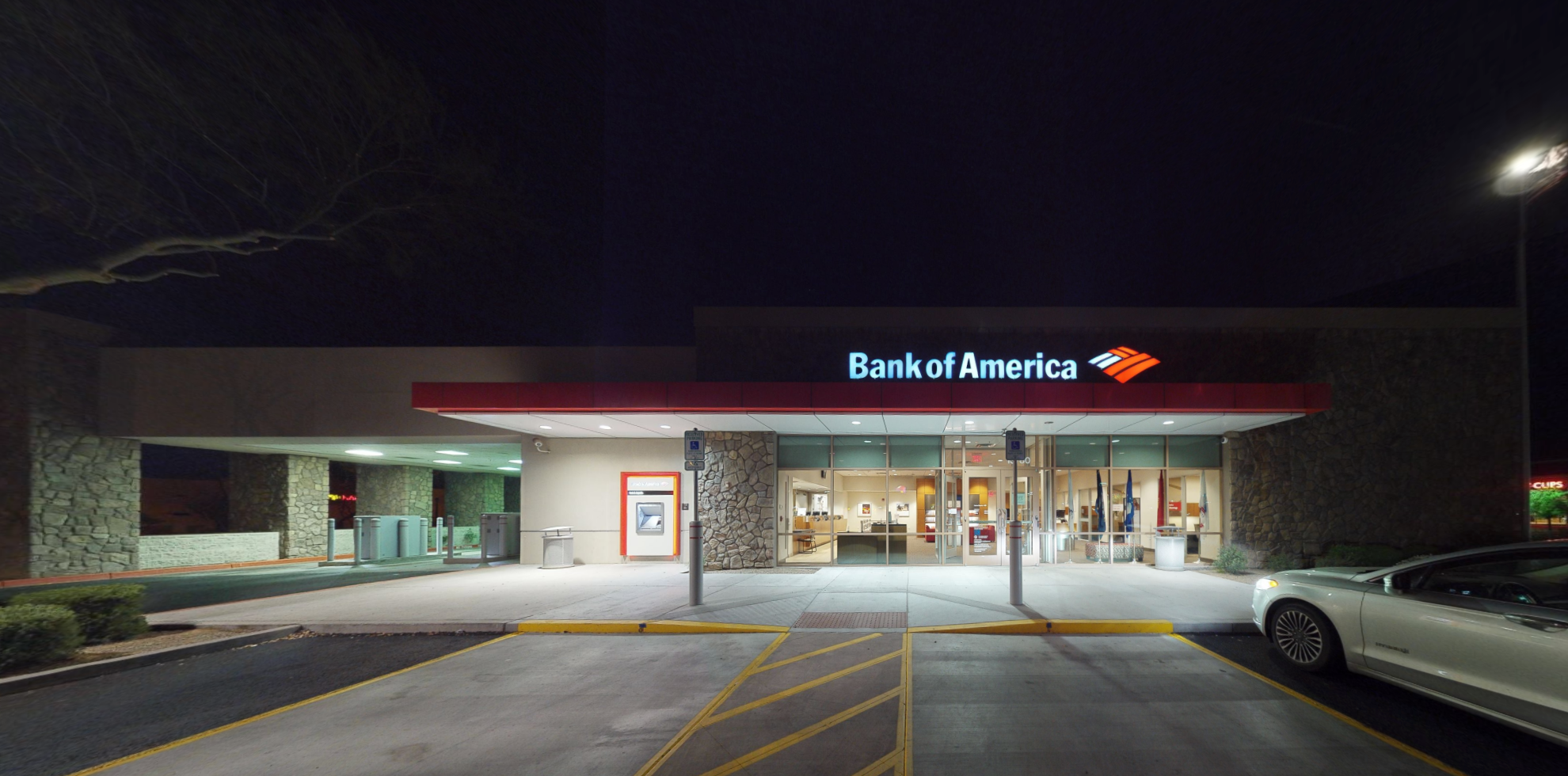 Bank of America financial center with drive-thru ATM | 13780 W Waddell Rd, Surprise, AZ 85379