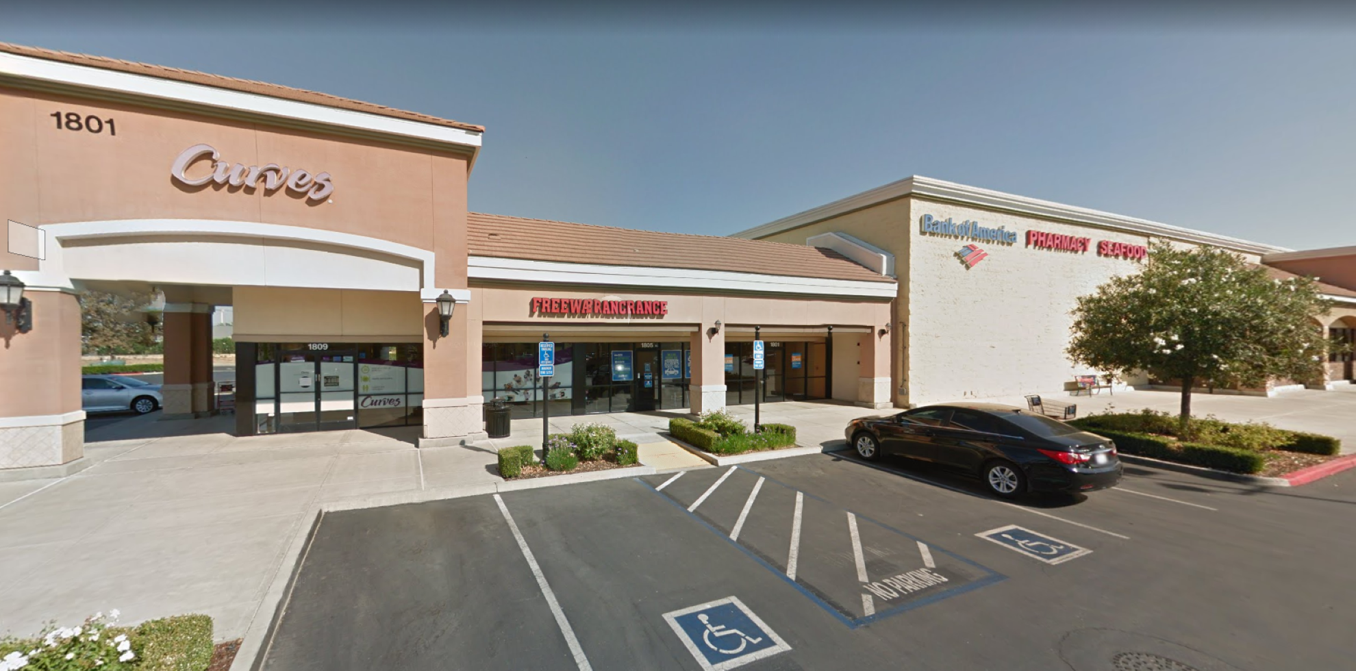 Bank of America financial center with walk-up ATM   1701 Bellevue Rd, Atwater, CA 95301