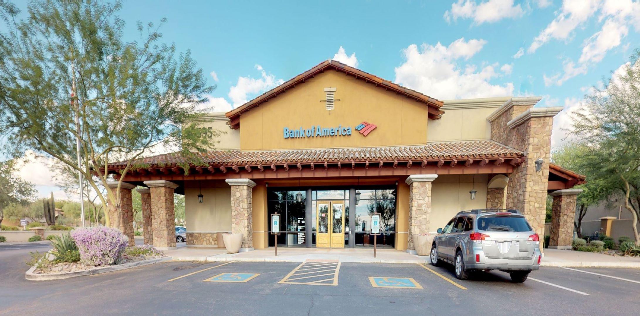 Bank of America financial center with drive-thru ATM | 20595 N Hayden Rd, Scottsdale, AZ 85255