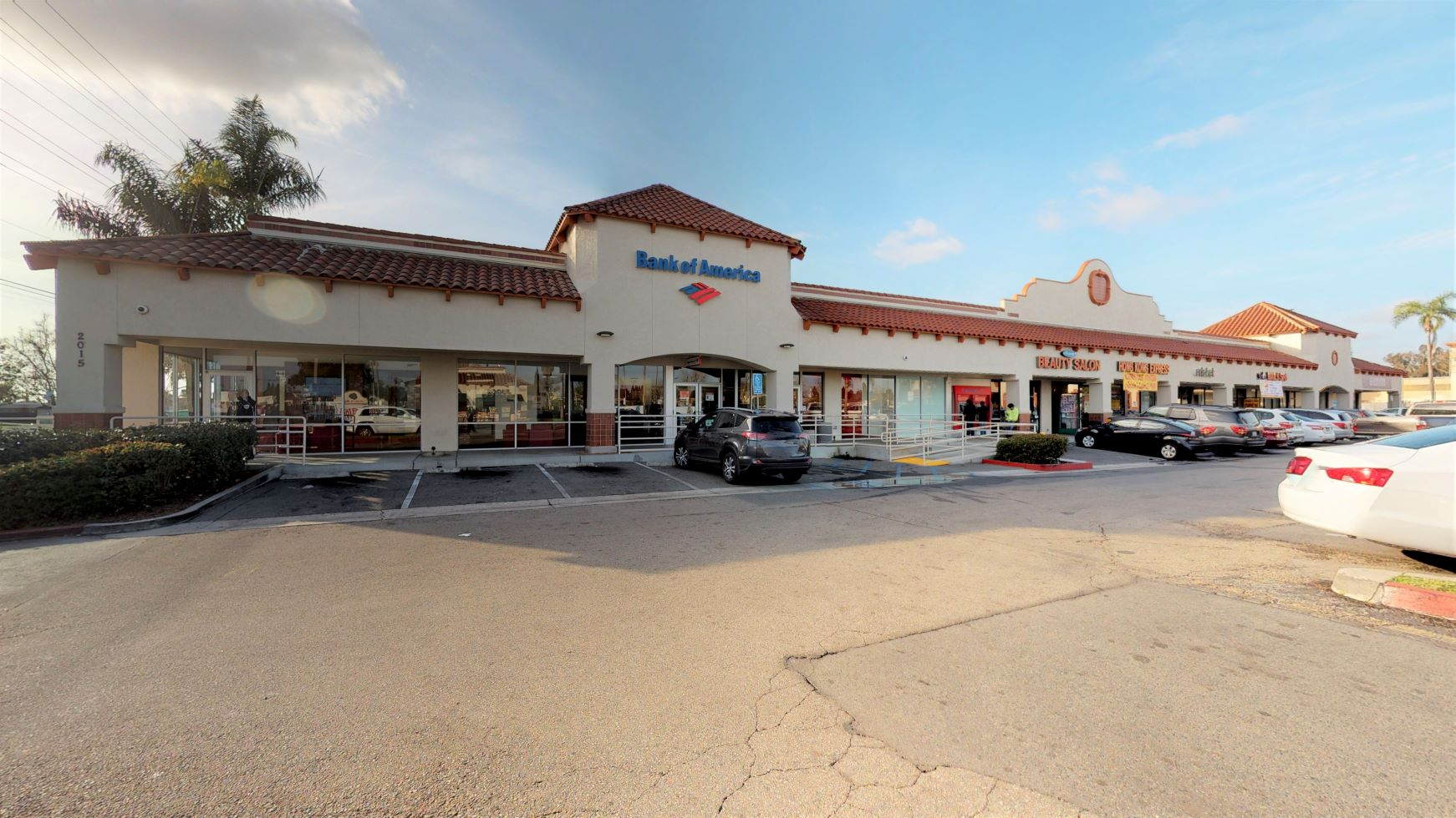 Bank of America financial center with walk-up ATM | 2015 W First St STE A, Santa Ana, CA 92703