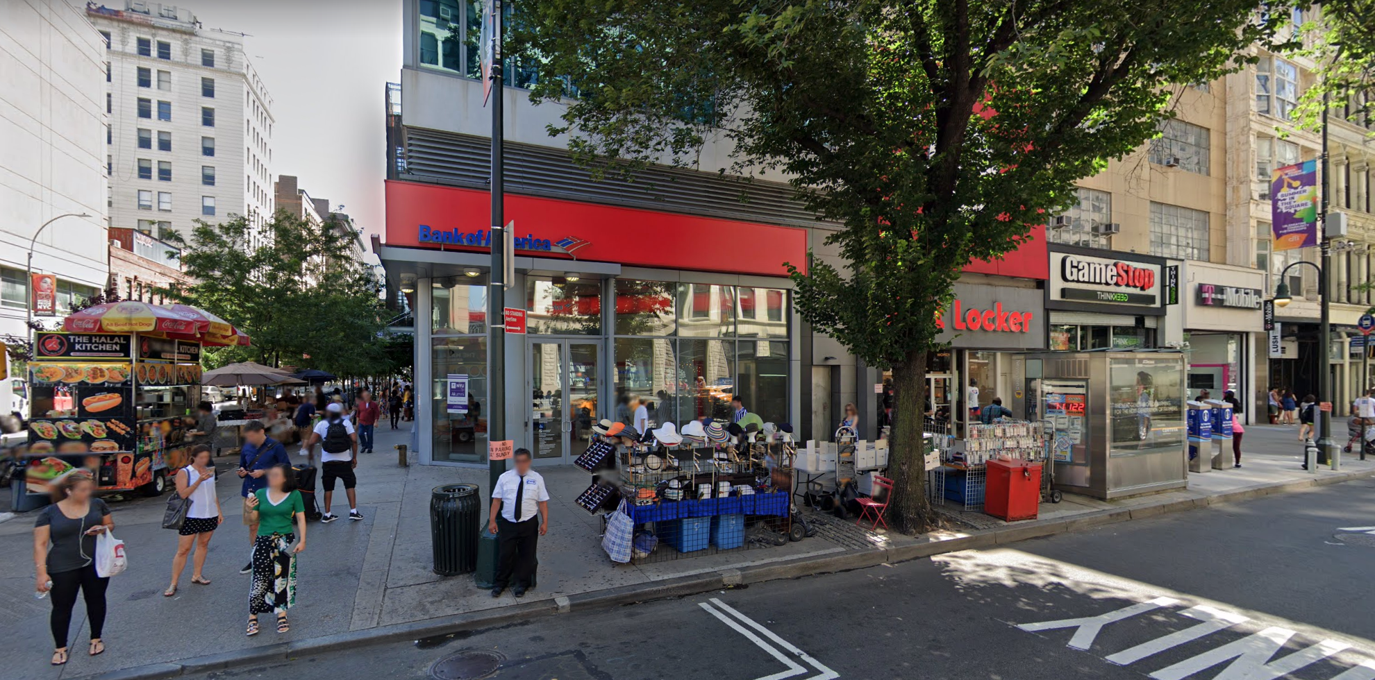 Bank of America financial center with walk-up ATM | 36 E 14th St, New York, NY 10003