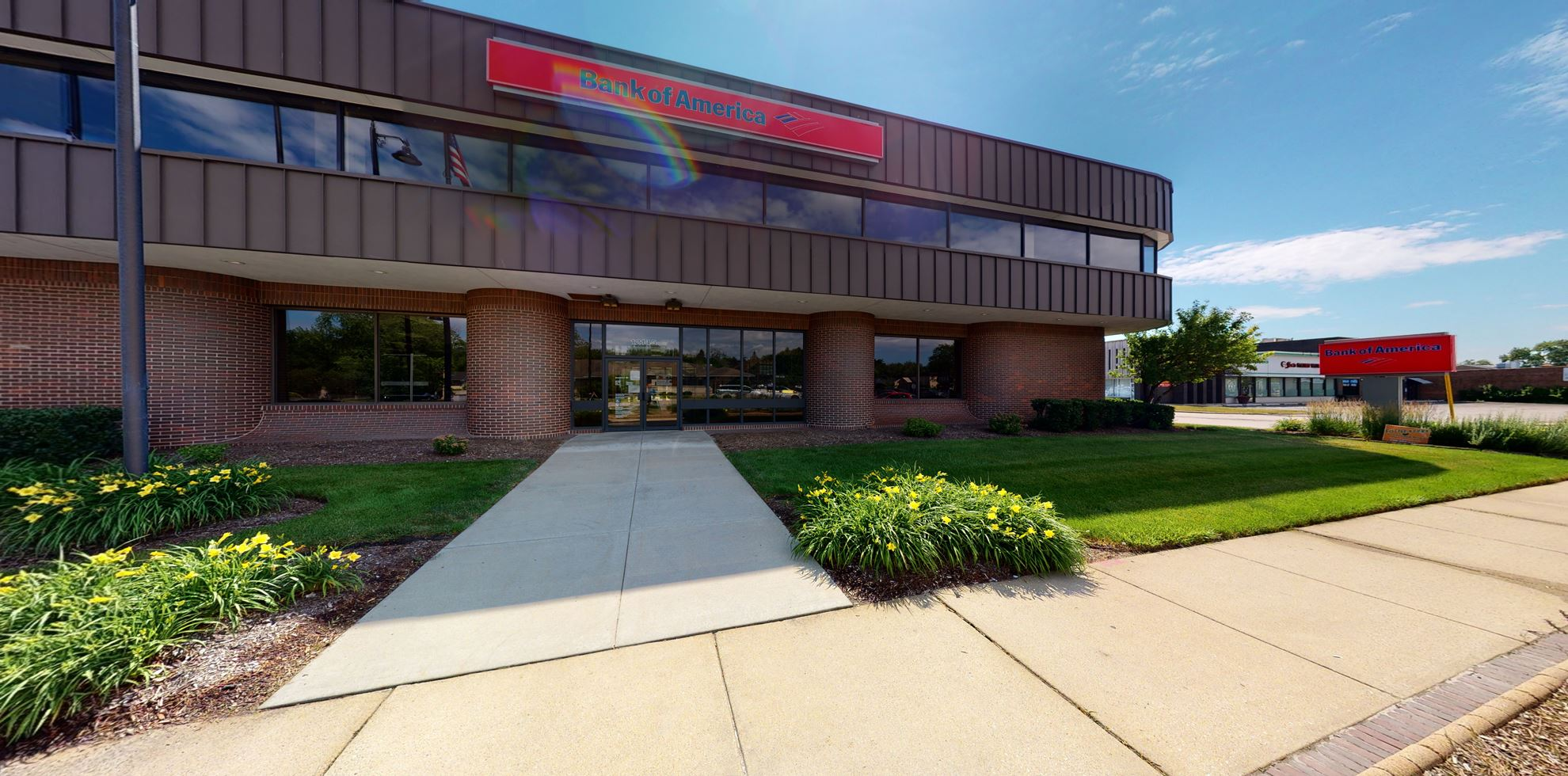 Bank of America financial center with drive-thru ATM and teller | 12145 S Harlem Ave, Palos Heights, IL 60463