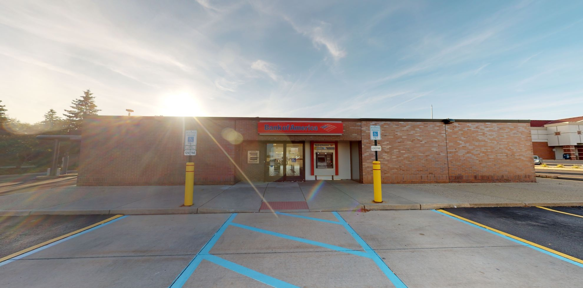 Bank of America financial center with walk-up ATM | 1310 S Rochester Rd, Rochester, MI 48307