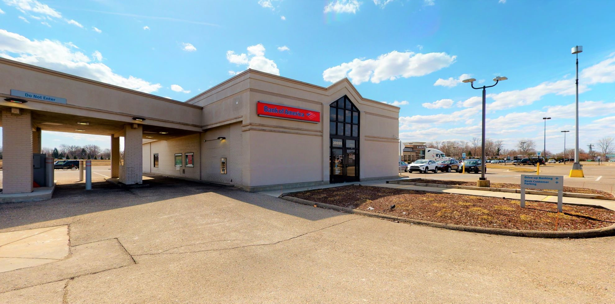 Bank of America financial center with drive-thru ATM | 30055 Plymouth Rd, Livonia, MI 48150