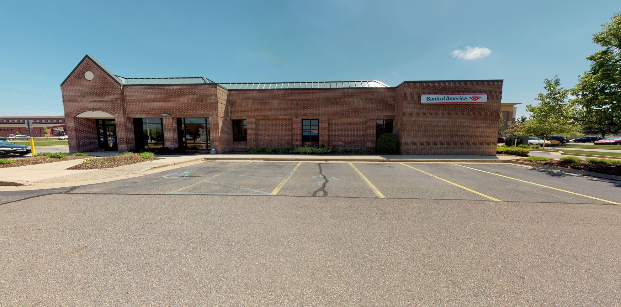 Bank of America financial center with drive-thru ATM | 4725 Wilson Ave SW, Grandville, MI 49418