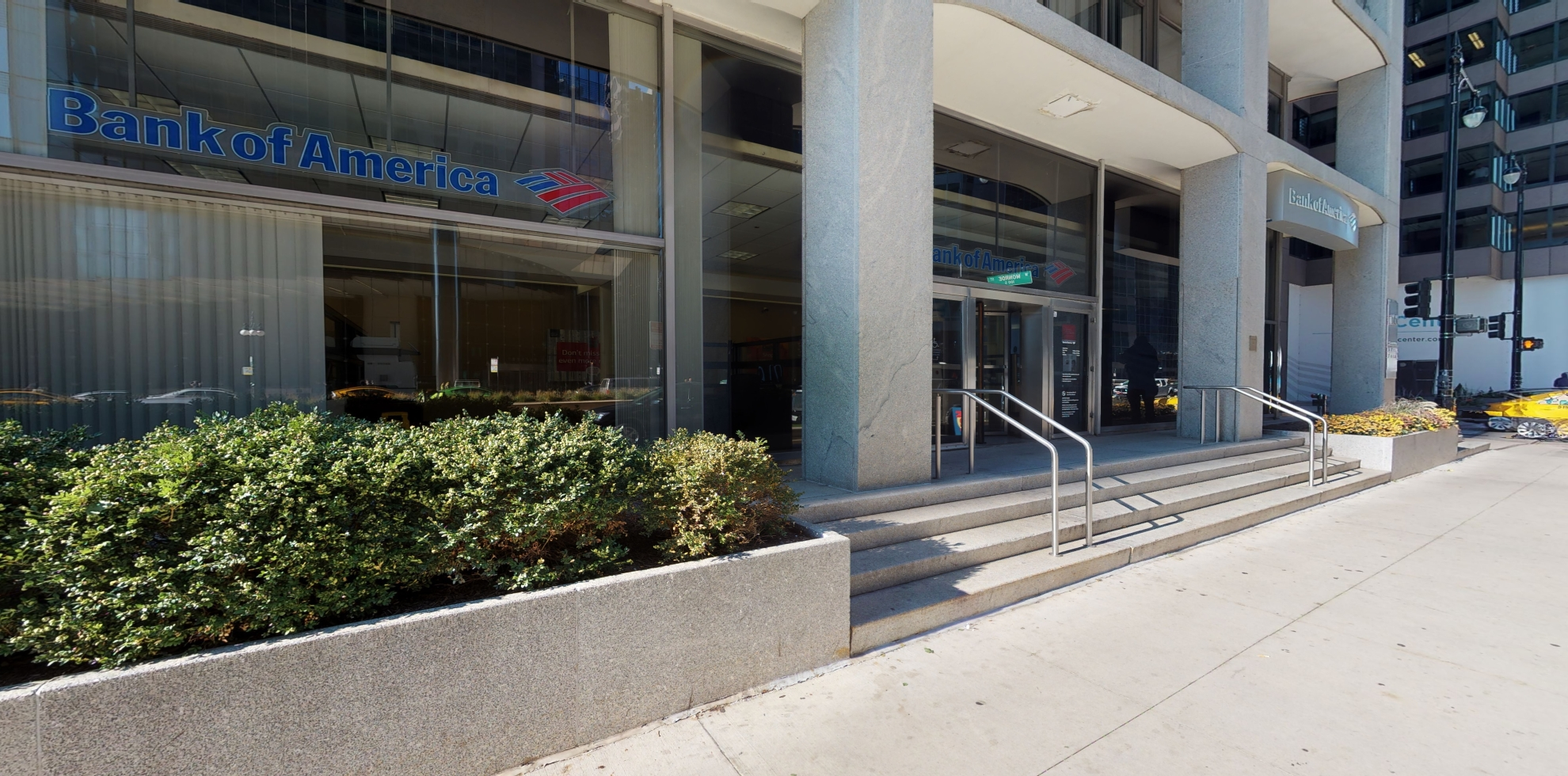 Bank of America financial center with walk-up ATM | 100 S Wacker Dr, Chicago, IL 60606