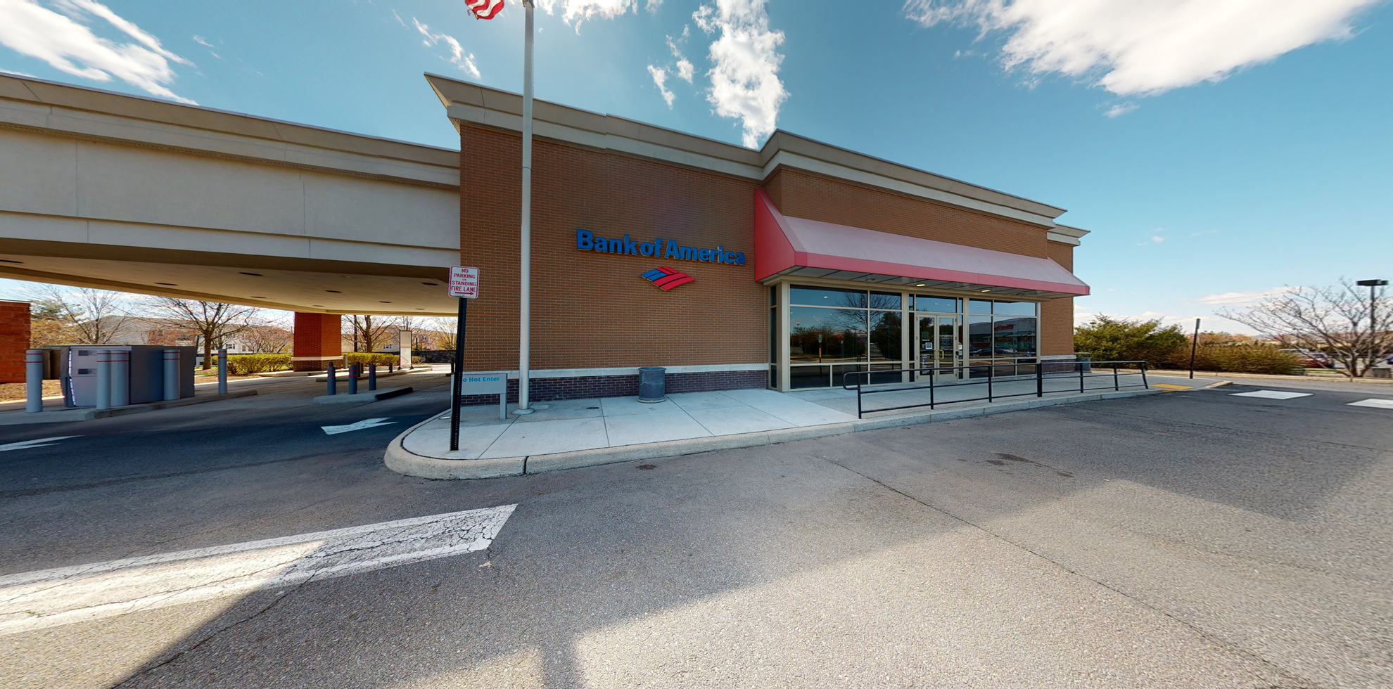 Bank of America financial center with drive-thru ATM | 554 Fort Evans Rd, Leesburg, VA 20176