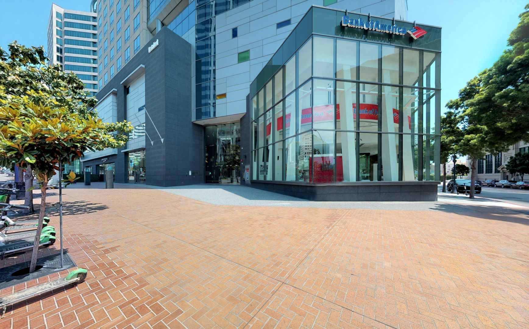 Bank of America financial center with walk-up ATM   655 W Broadway STE 101, San Diego, CA 92101