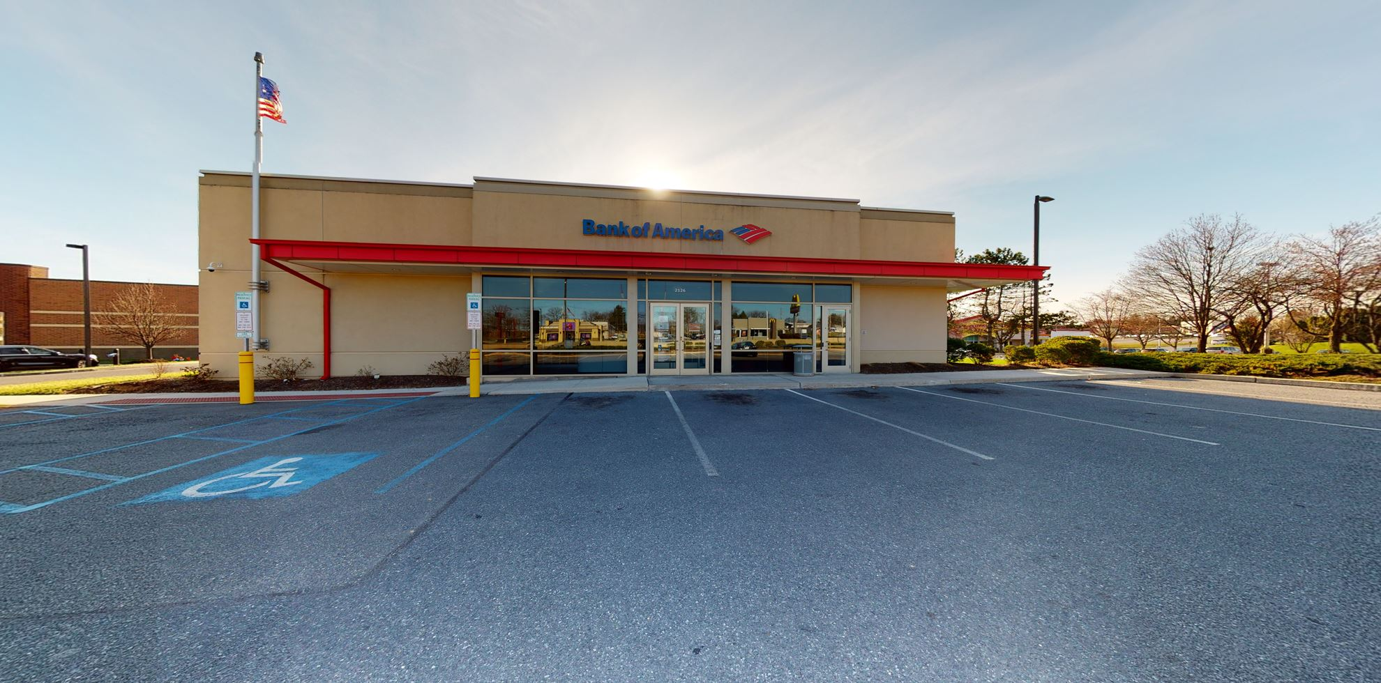 Bank of America financial center with drive-thru ATM   2126 MacArthur Rd, Whitehall, PA 18052