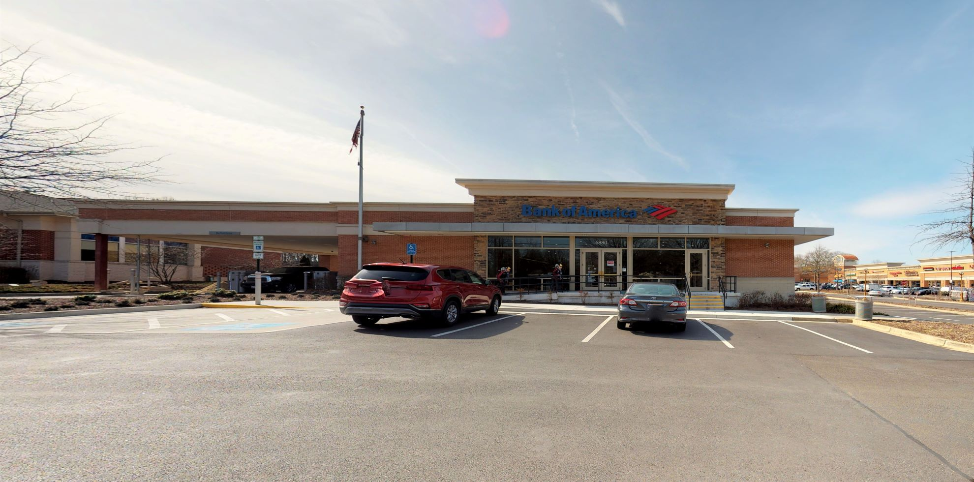 Bank of America financial center with drive-thru ATM   6880 Race Track Rd, Bowie, MD 20715