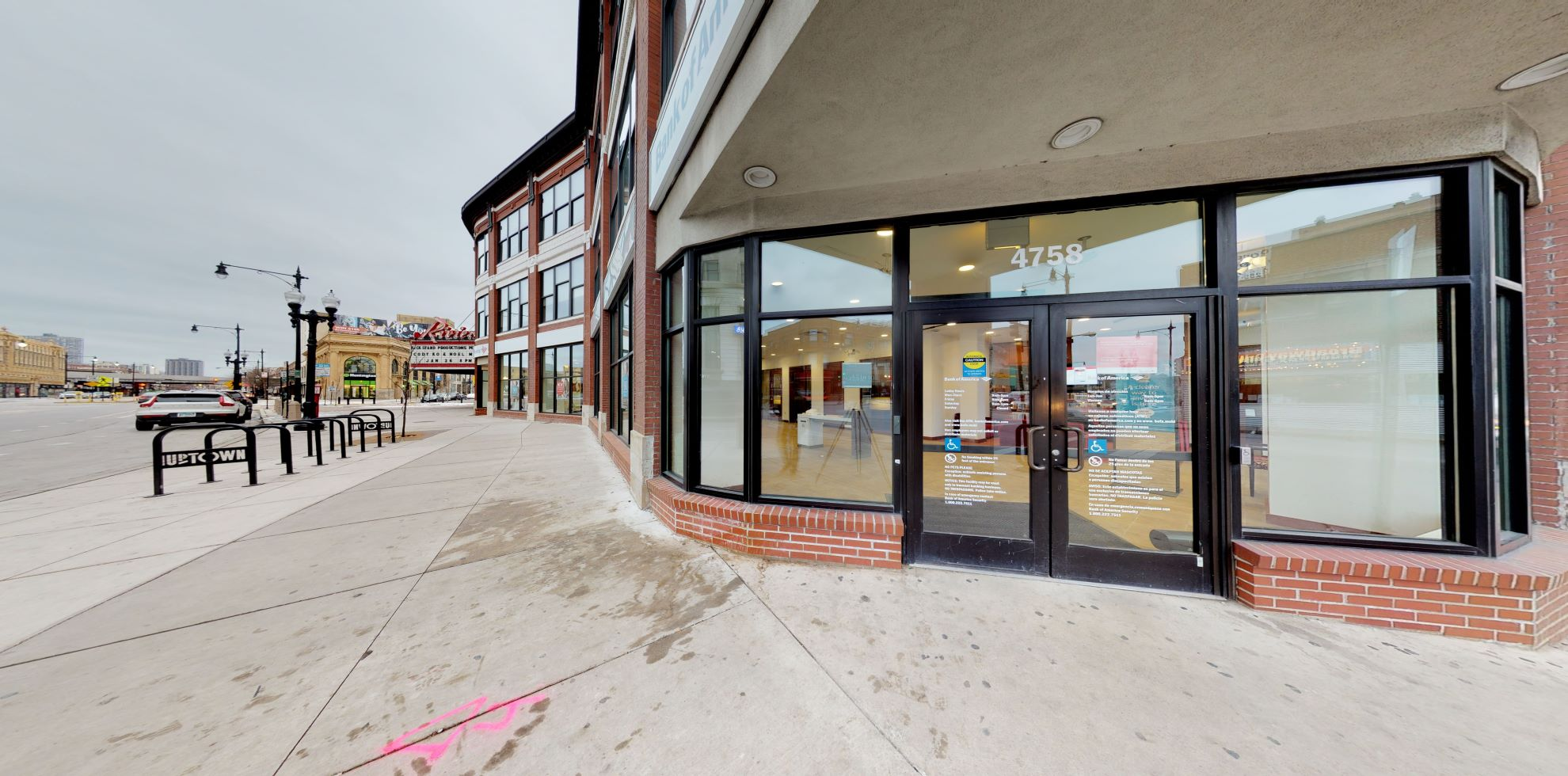 Bank of America financial center with walk-up ATM | 4758 N Racine Ave, Chicago, IL 60640