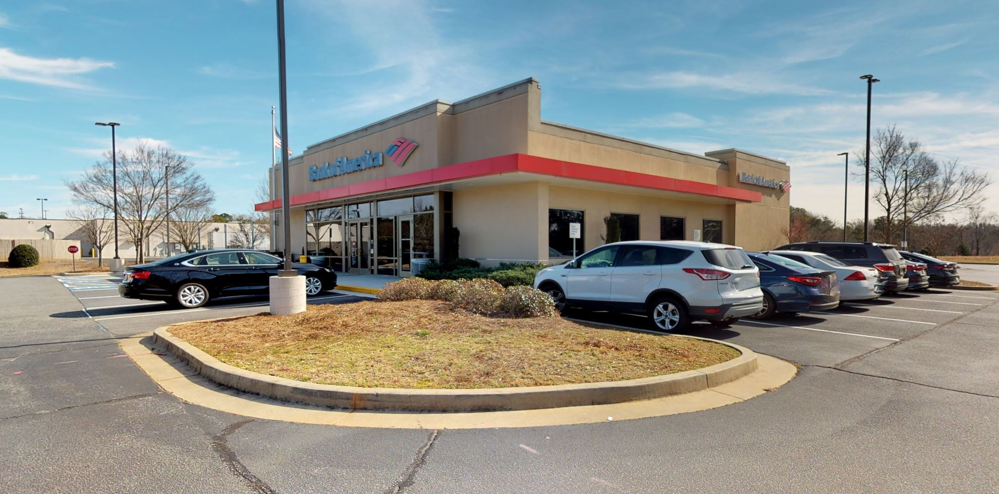 Bank of America financial center with drive-thru ATM | 3985 Sugarloaf Pkwy, Lawrenceville, GA 30044