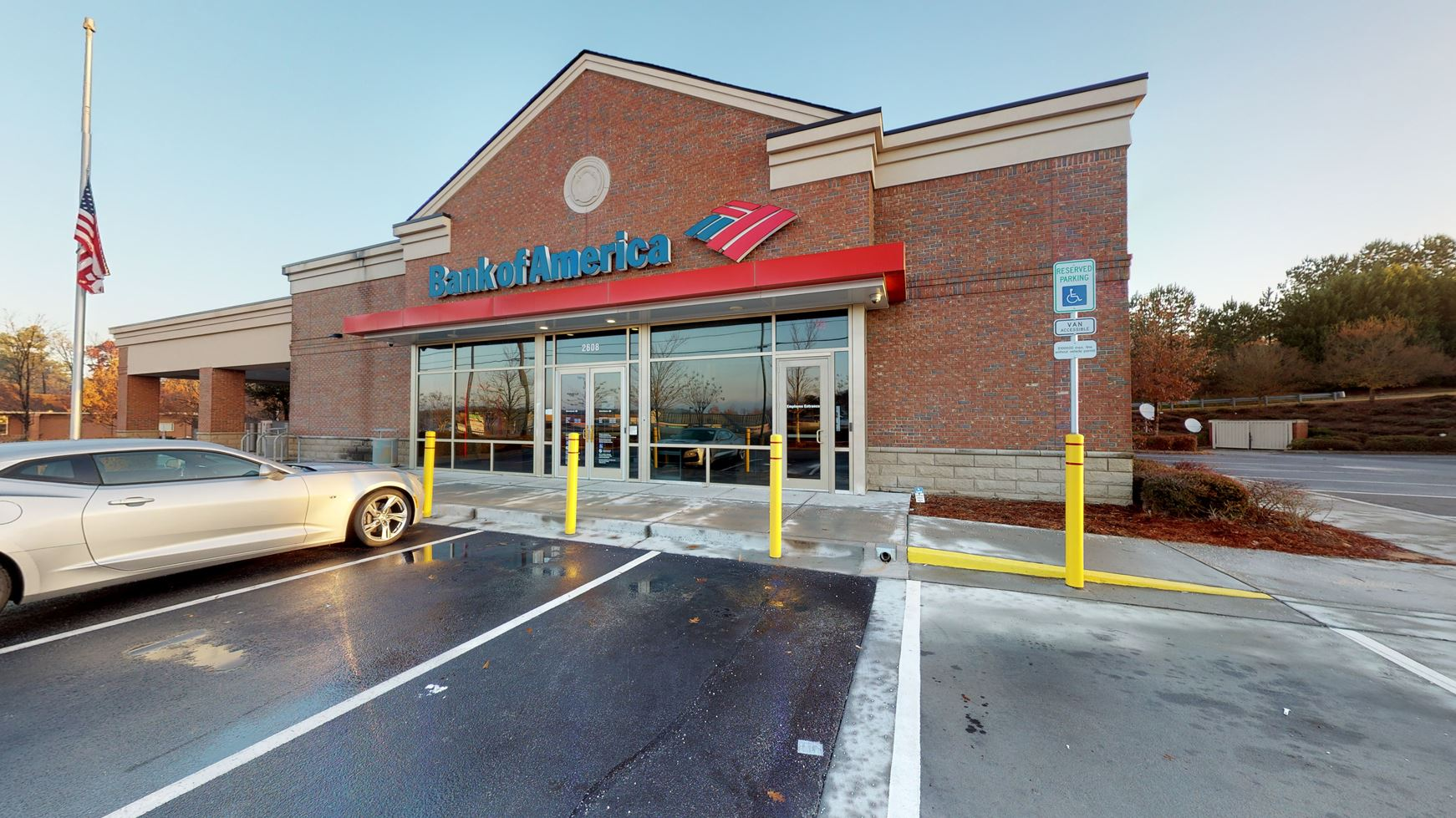 Bank of America financial center with drive-thru ATM   2608 Pleasant Hill Rd, Duluth, GA 30096